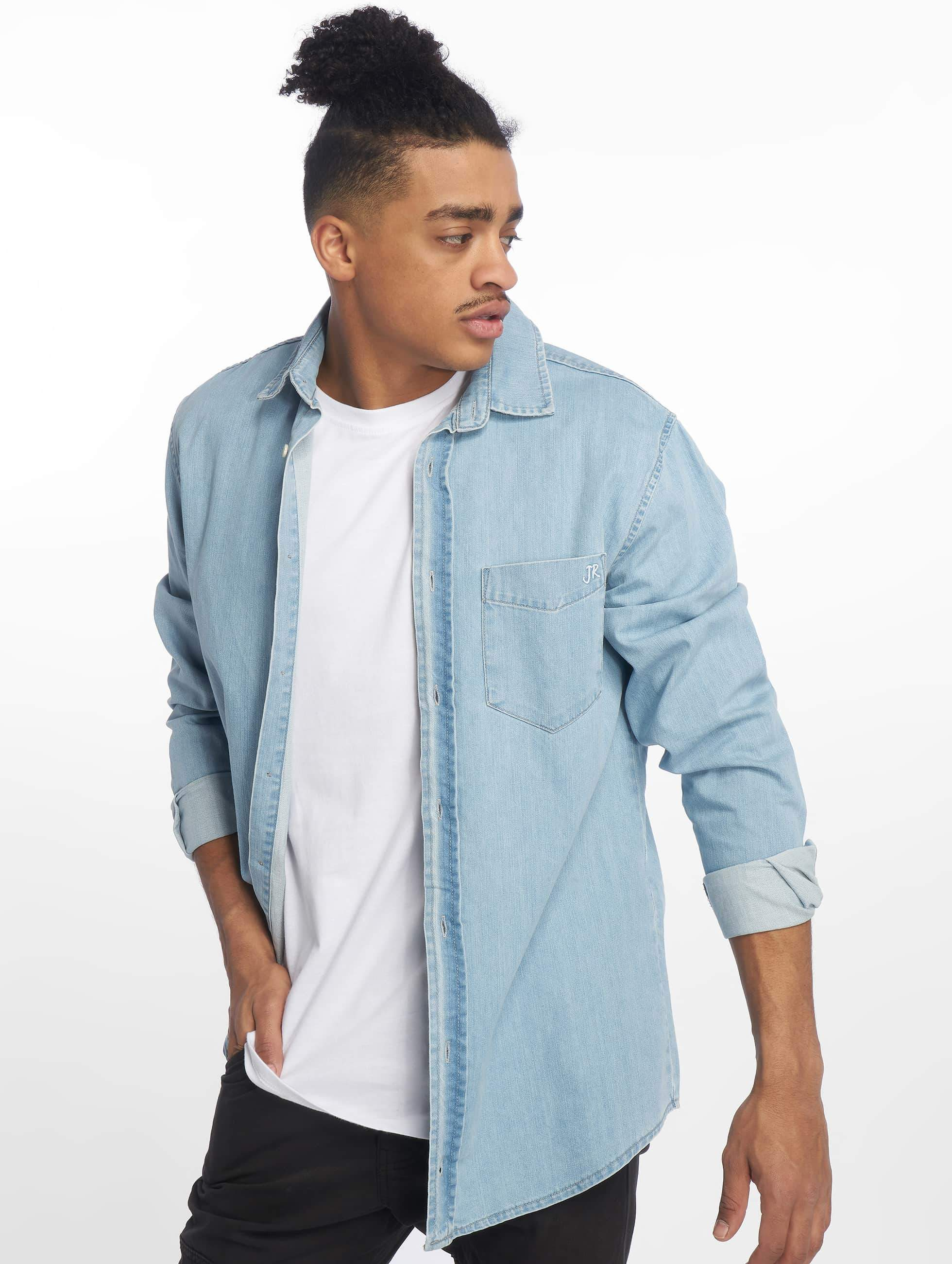 Just Rhyse / Shirt Denim in blue S