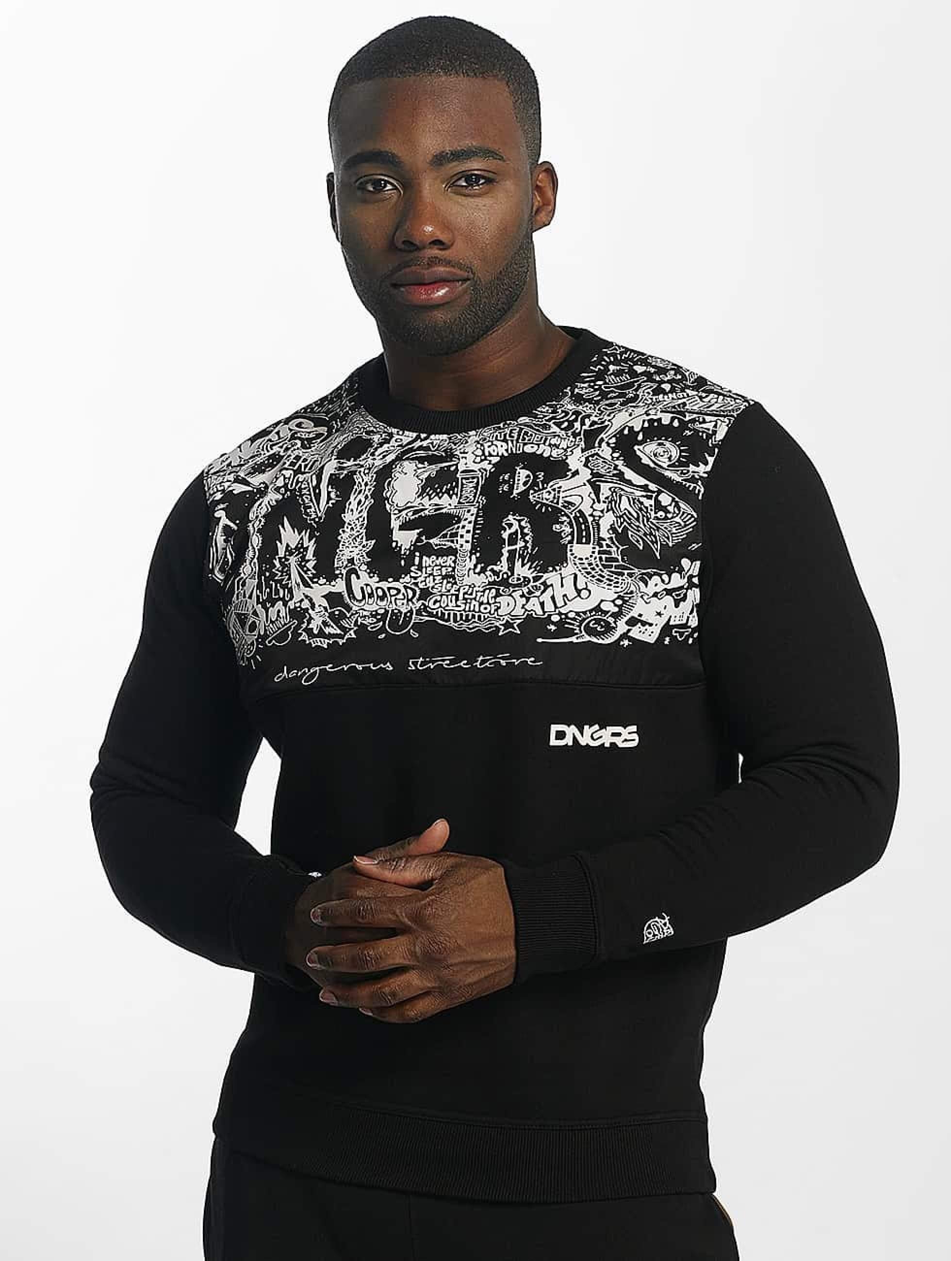 Dangerous DNGRS / Jumper Bullshit in black XL