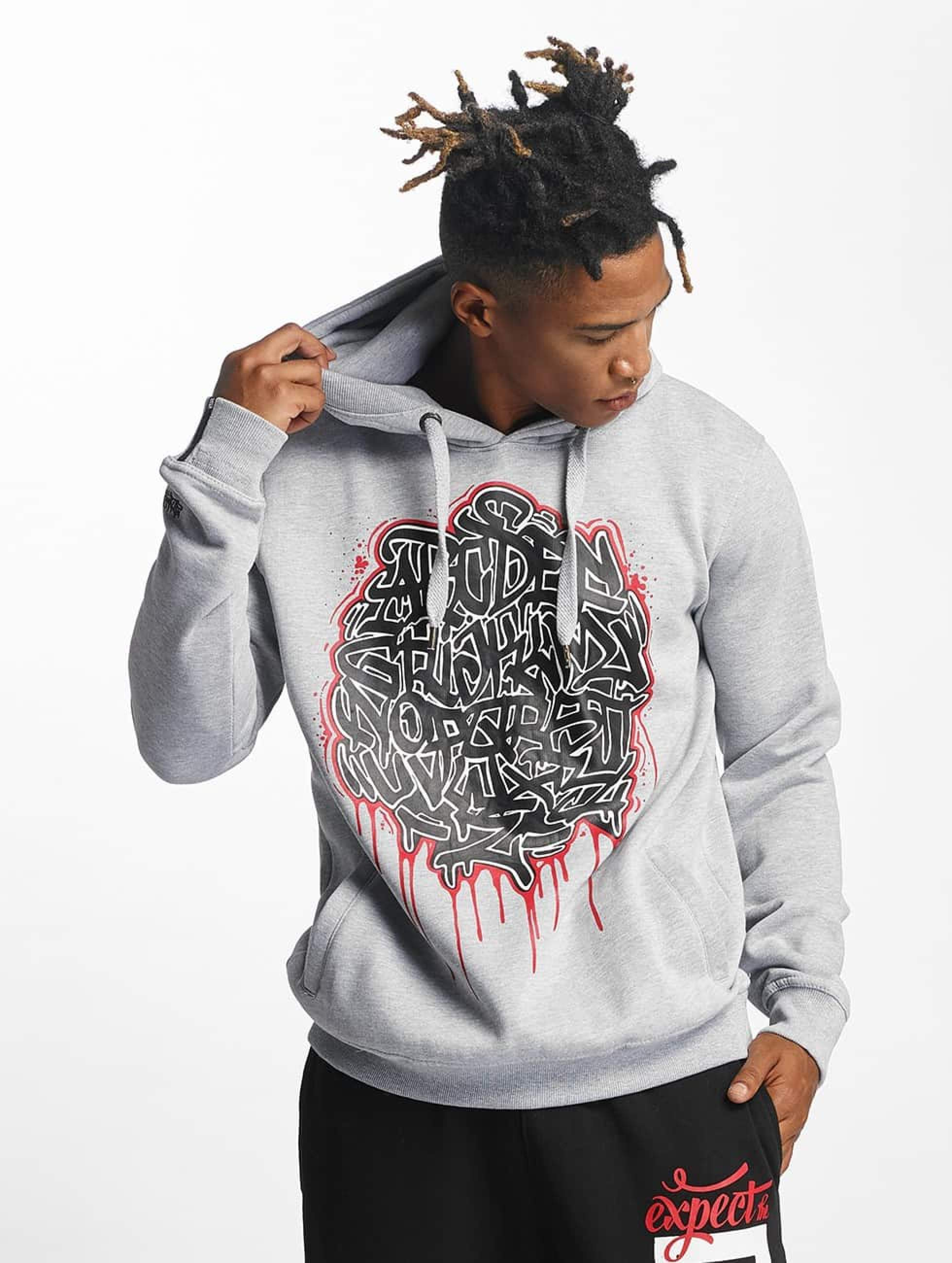 Dangerous DNGRS / Hoodie Alpha DMARK in grey XL