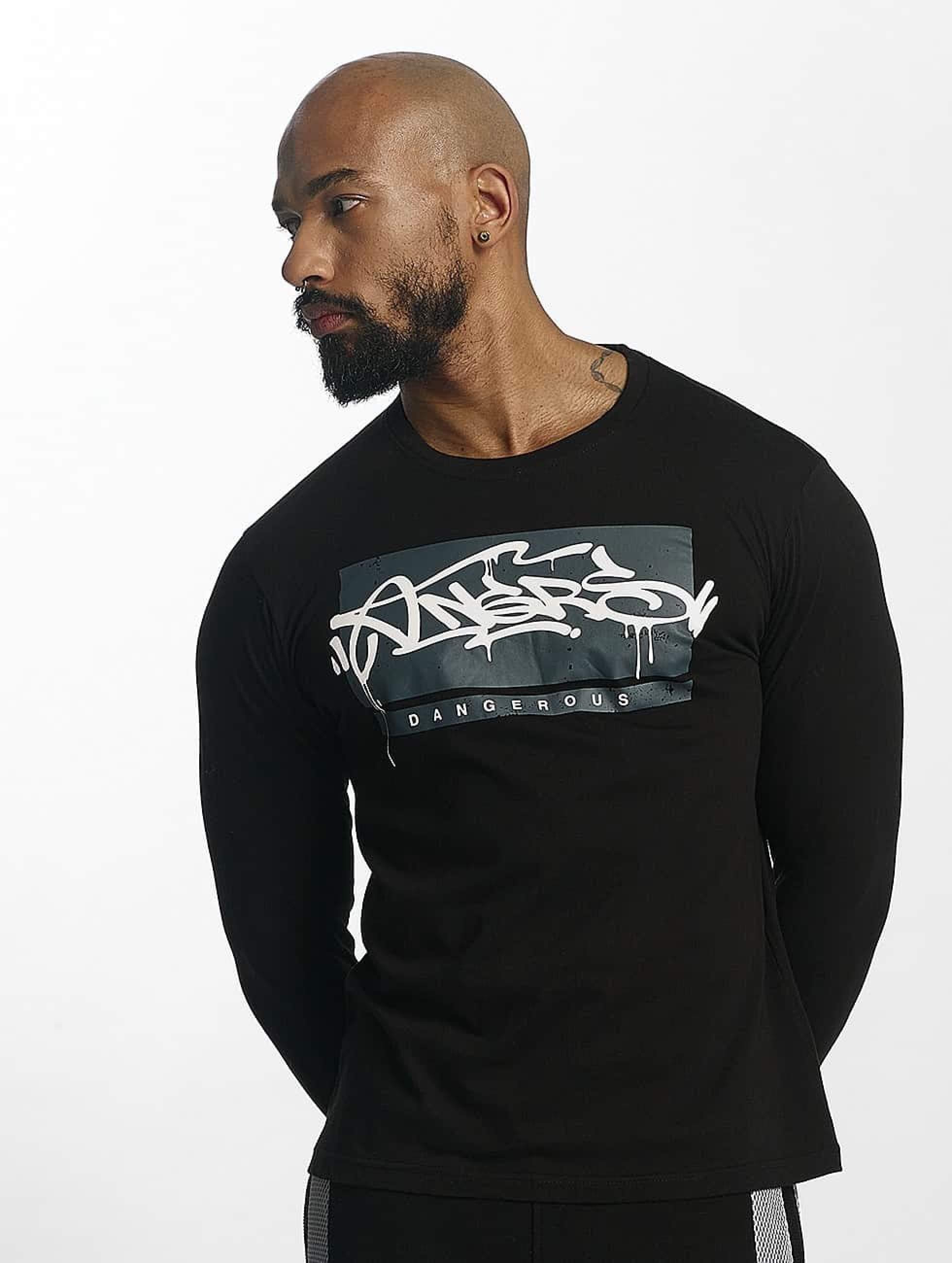 Dangerous DNGRS / Longsleeve Topping in black XL