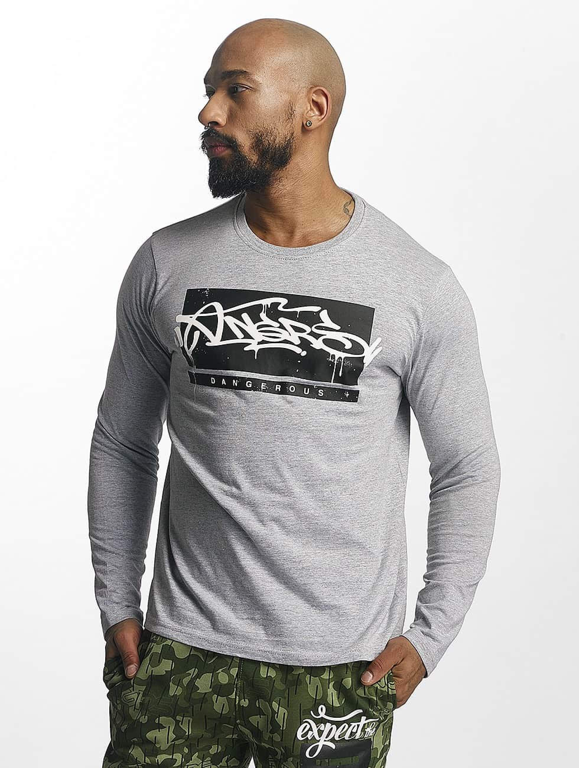 Dangerous DNGRS / Longsleeve Topping in grey S