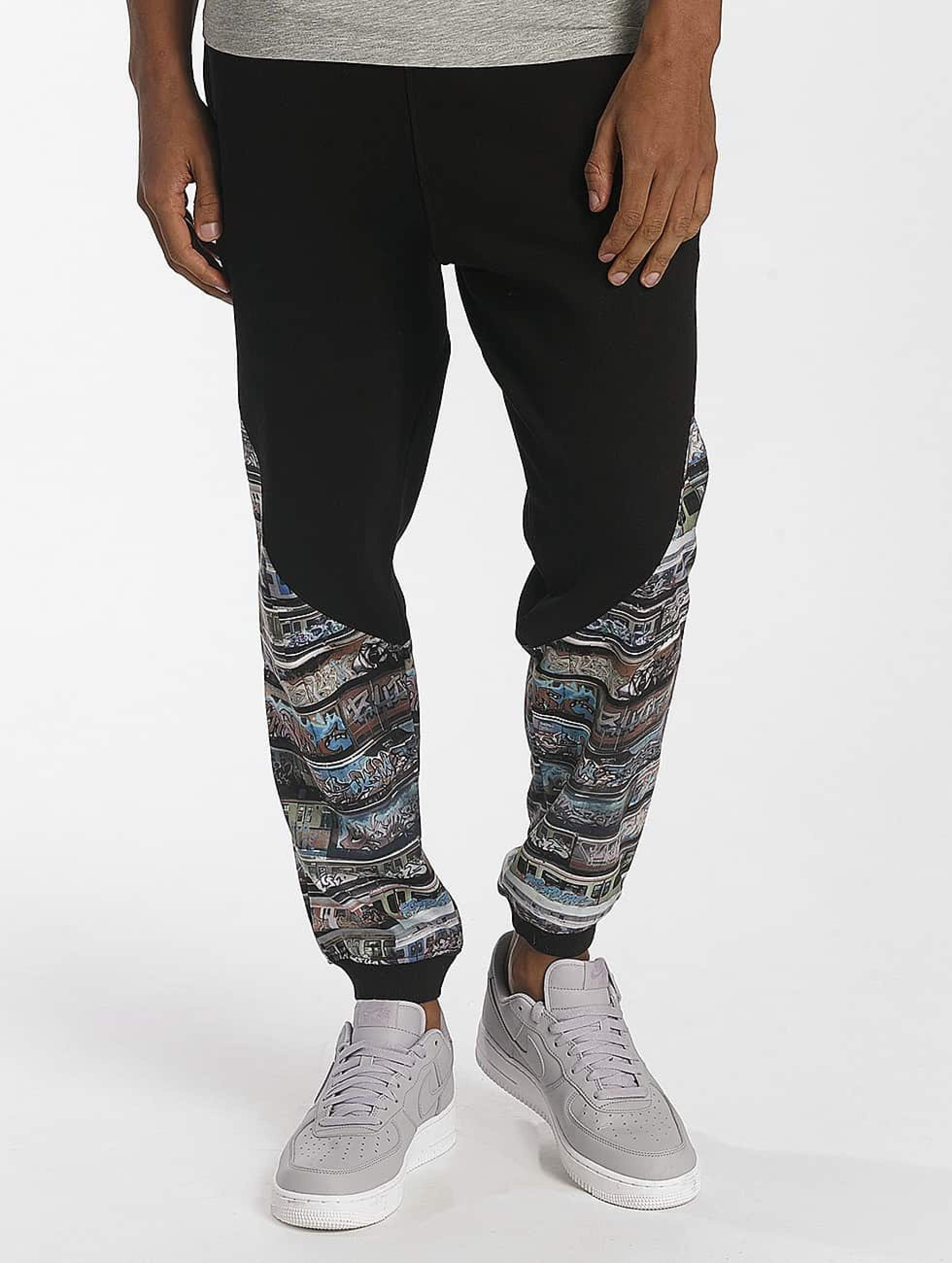 Dangerous DNGRS / Sweat Pant SKIM Trainz in black S