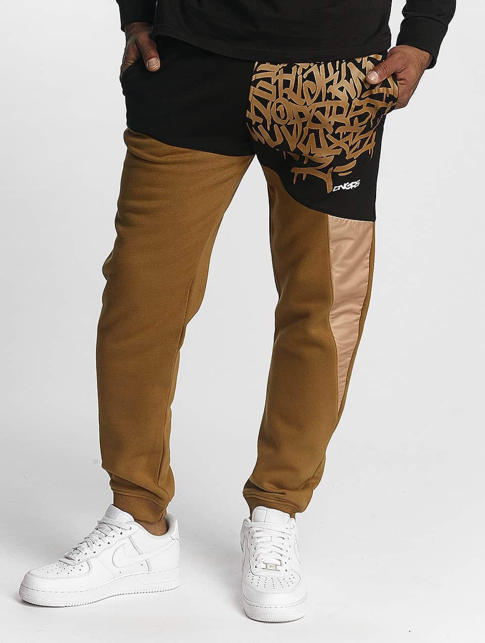 Dangerous DNGRS / Sweat Pant AlphaMark in brown M