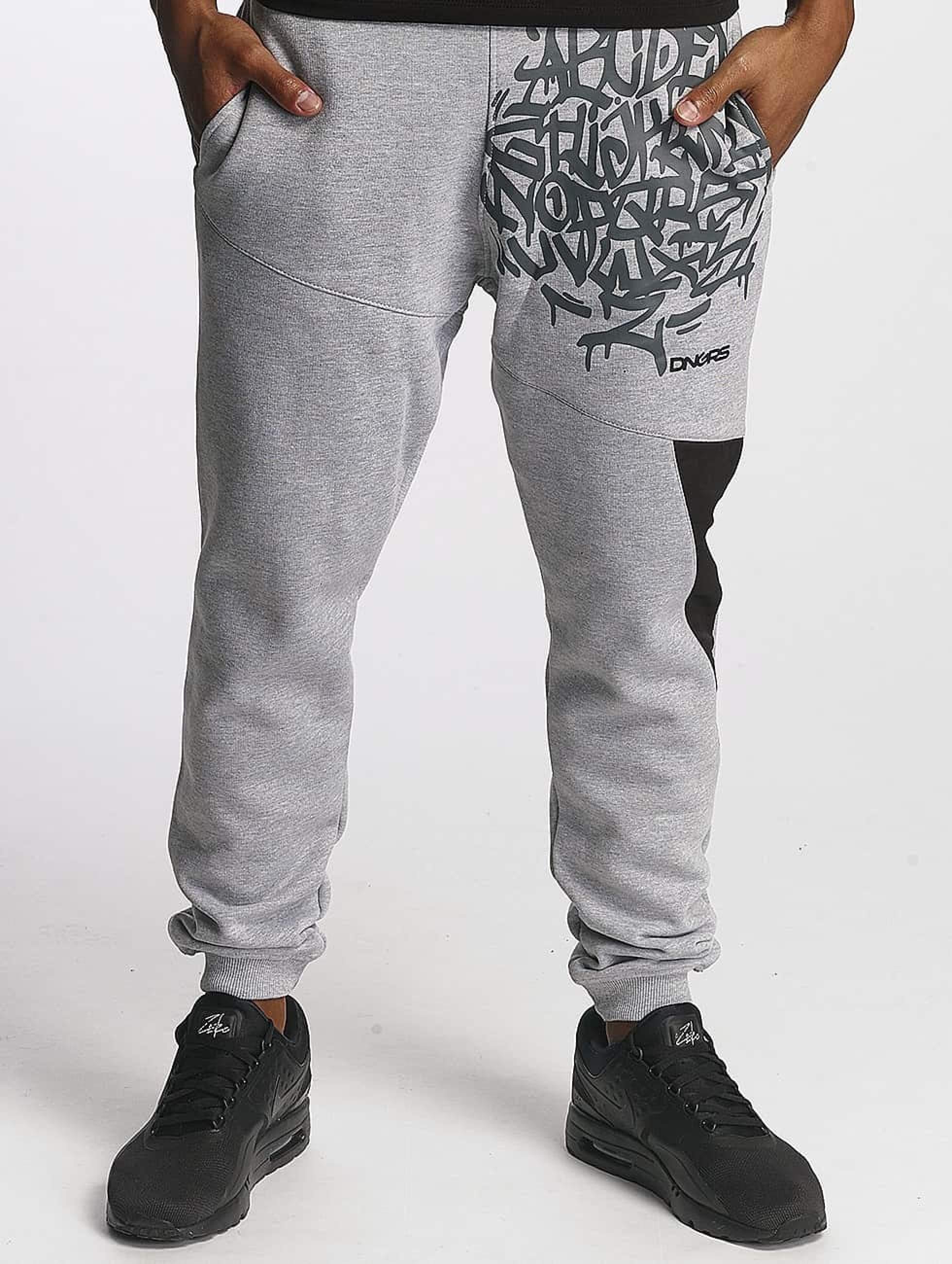 Dangerous DNGRS / Sweat Pant AlphaMark in grey L