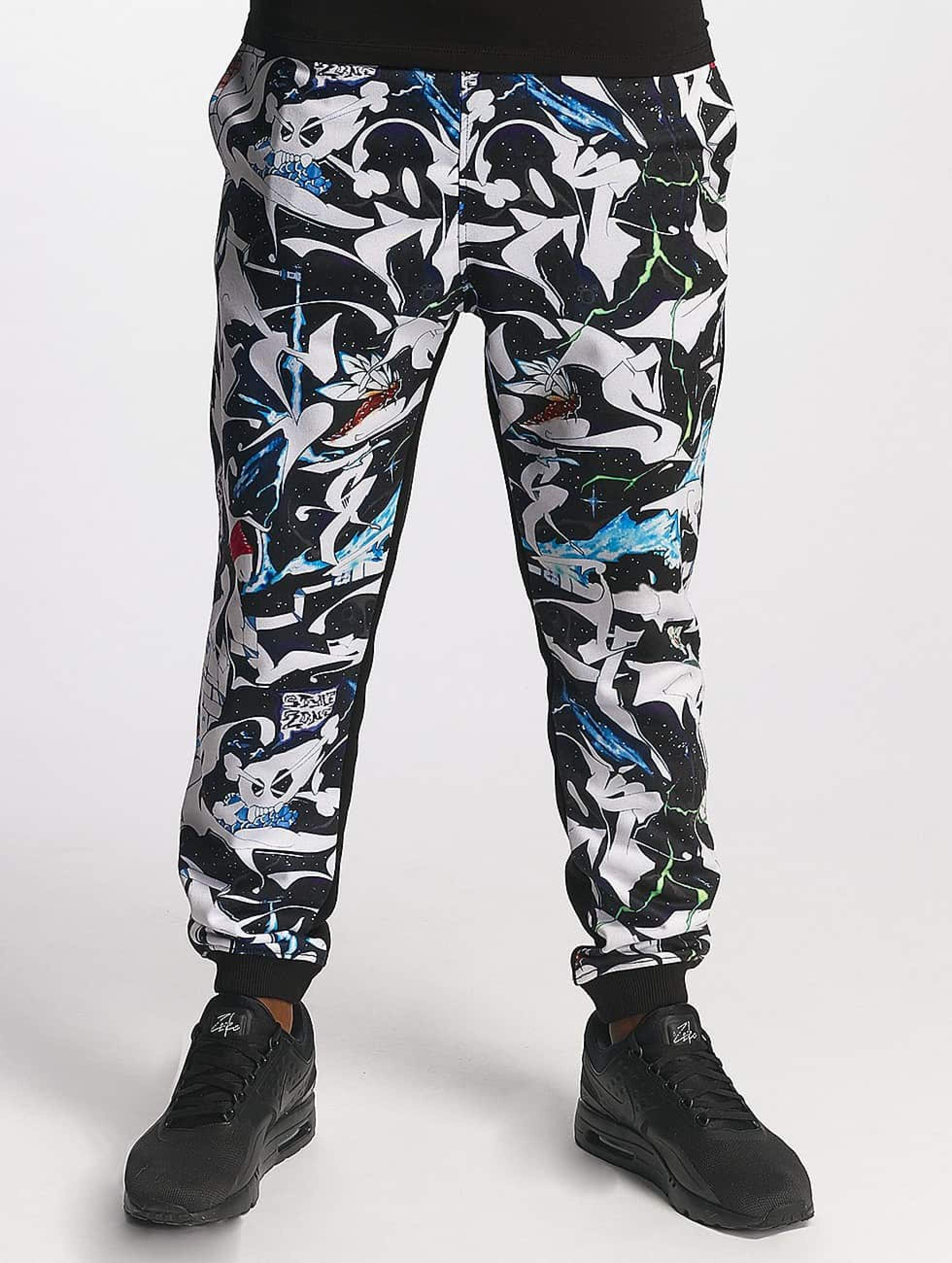 Dangerous DNGRS / Sweat Pant SKIM Outaspace in black XL