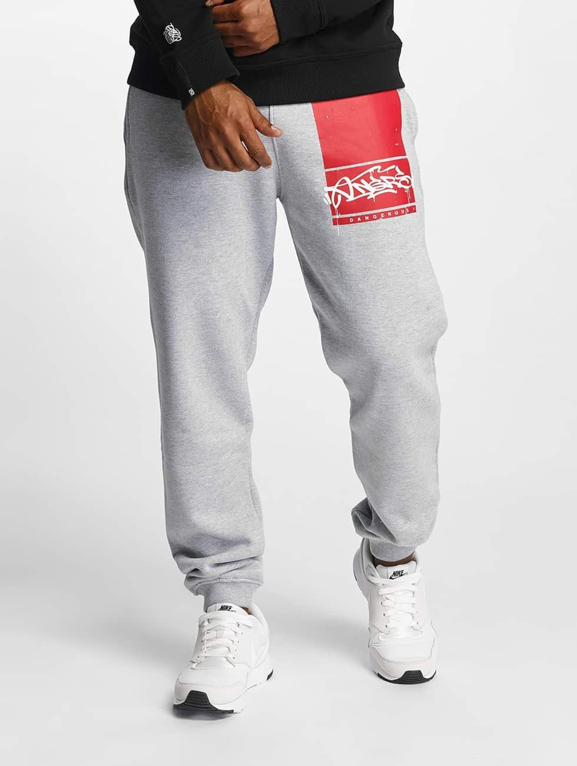 Dangerous DNGRS / Sweat Pant Topping in grey S