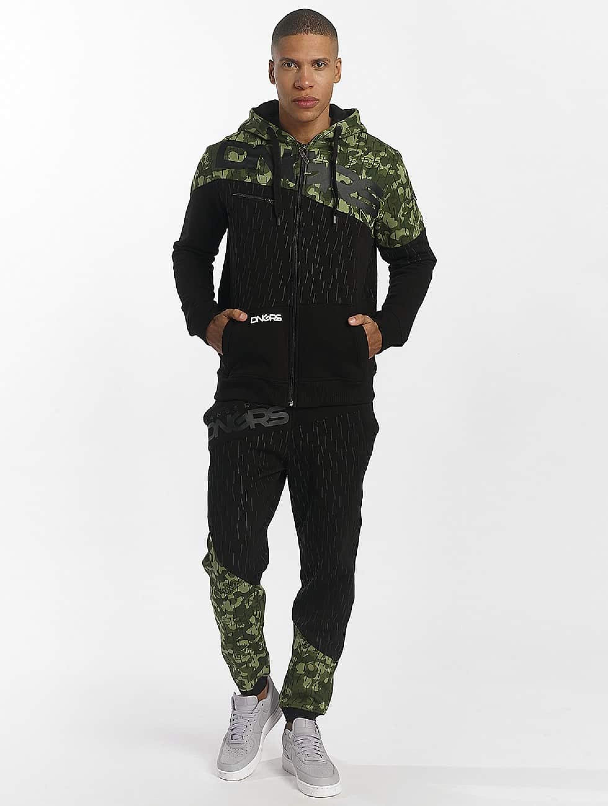 Dangerous DNGRS / Suits Tritop in camouflage L