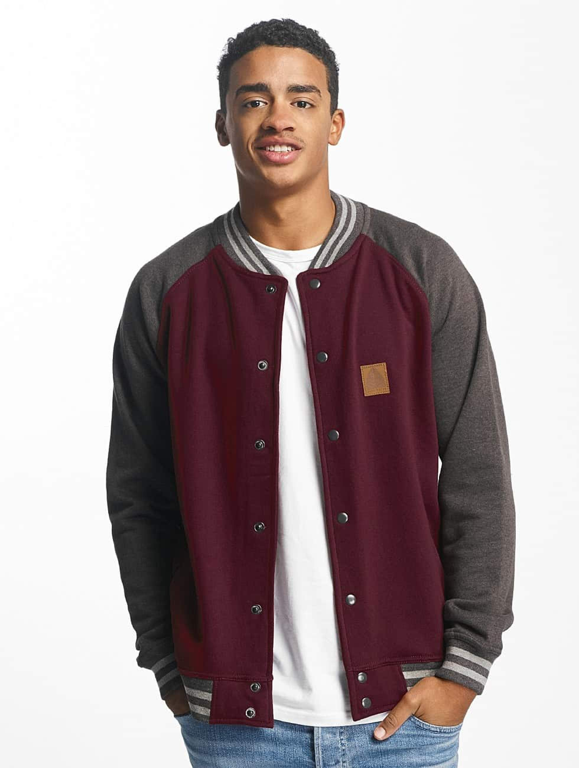 Just Rhyse / College Jacket Chitina in red M