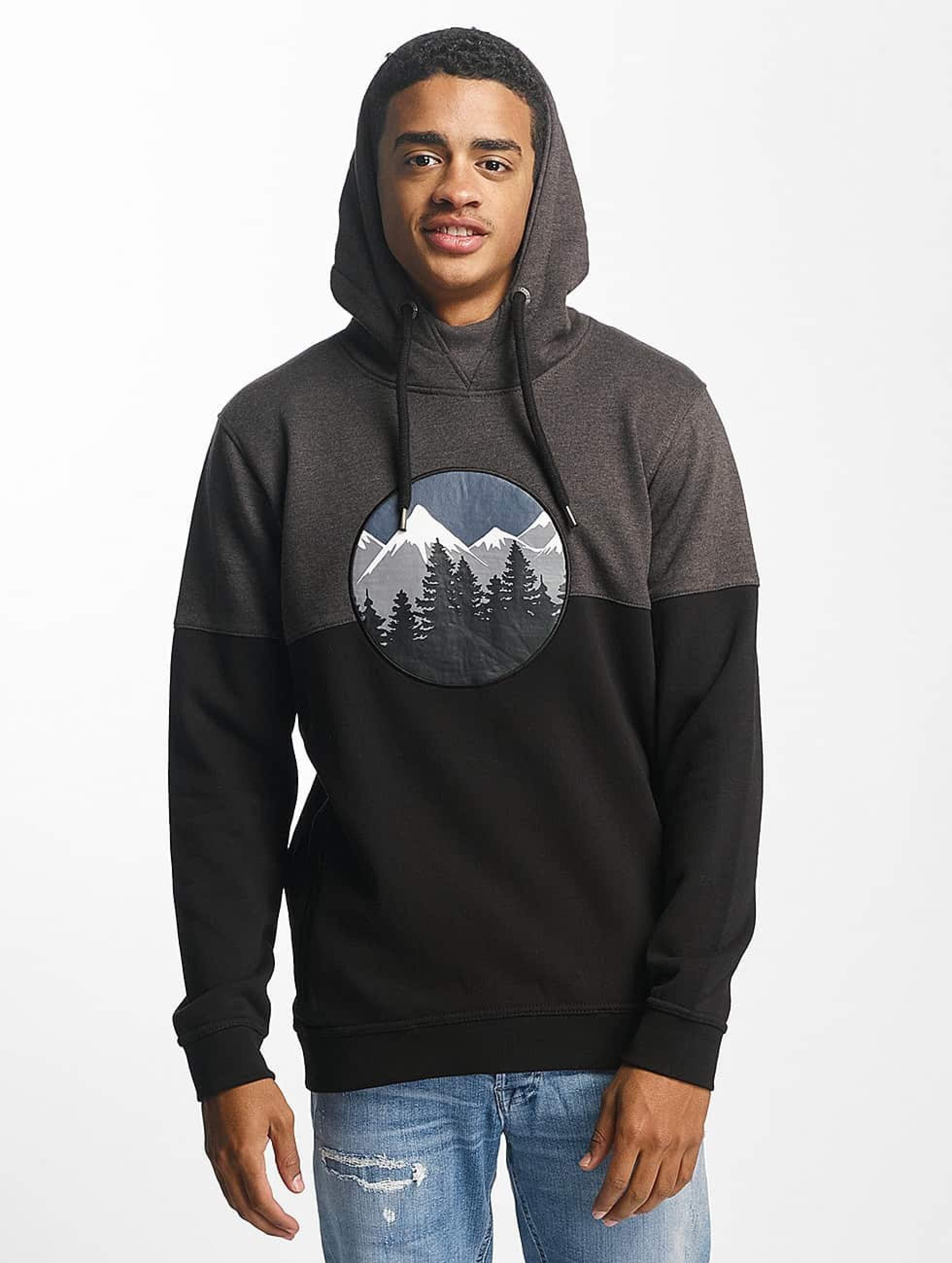 Just Rhyse / Hoodie Mountain in black S