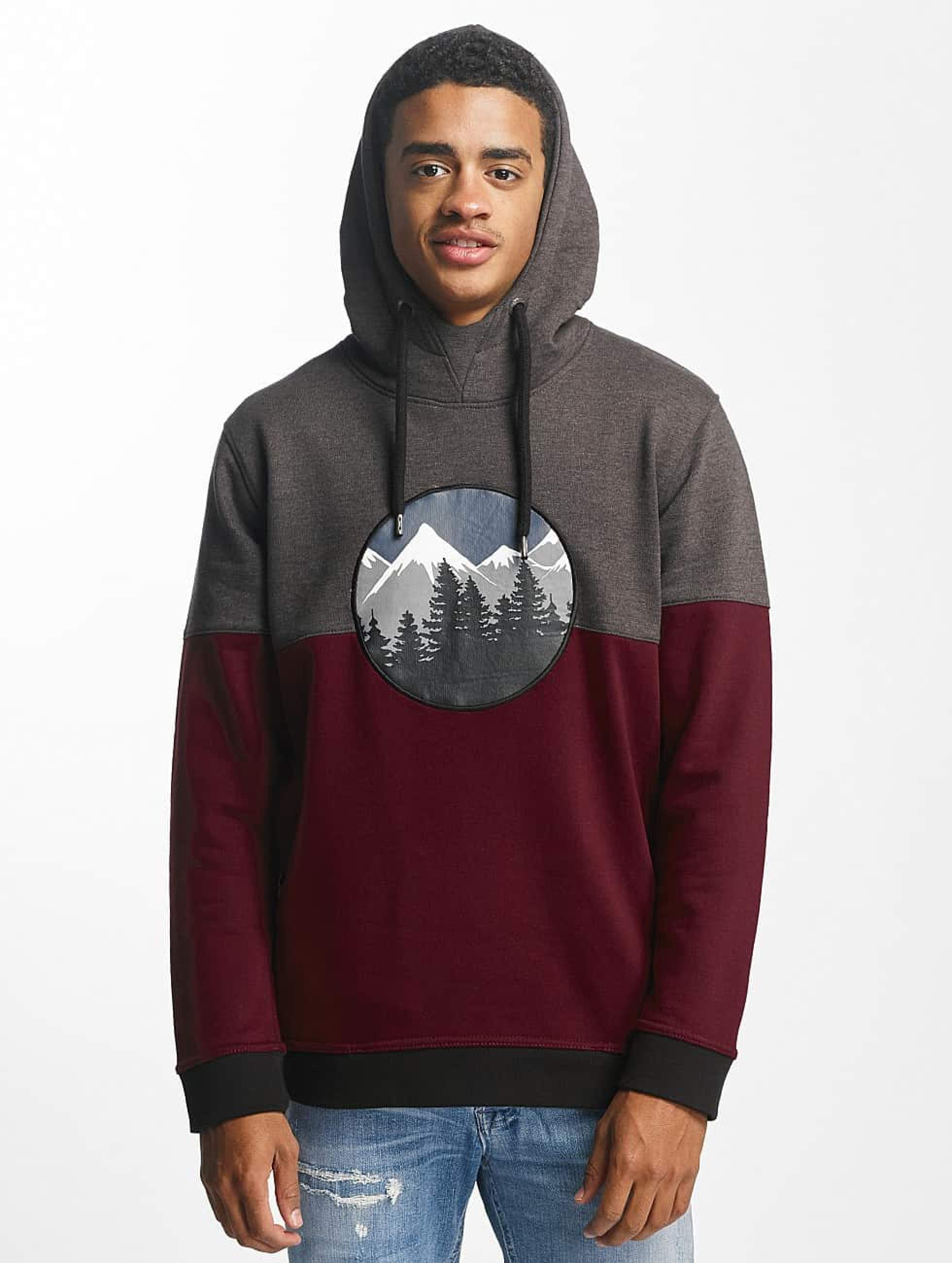 Just Rhyse / Hoodie Mountain in red S