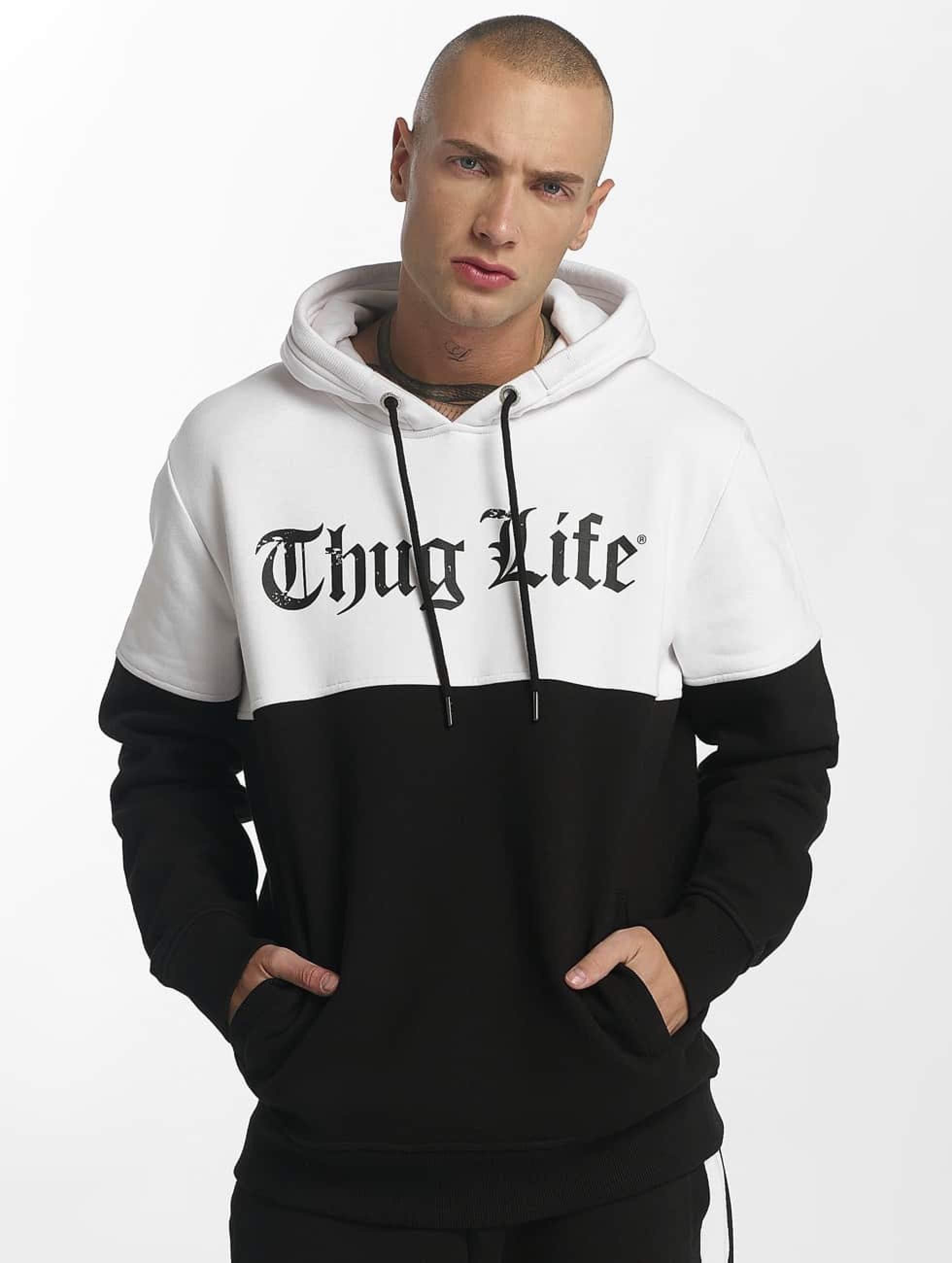 Thug Life / Hoodie Koyote in black 2XL