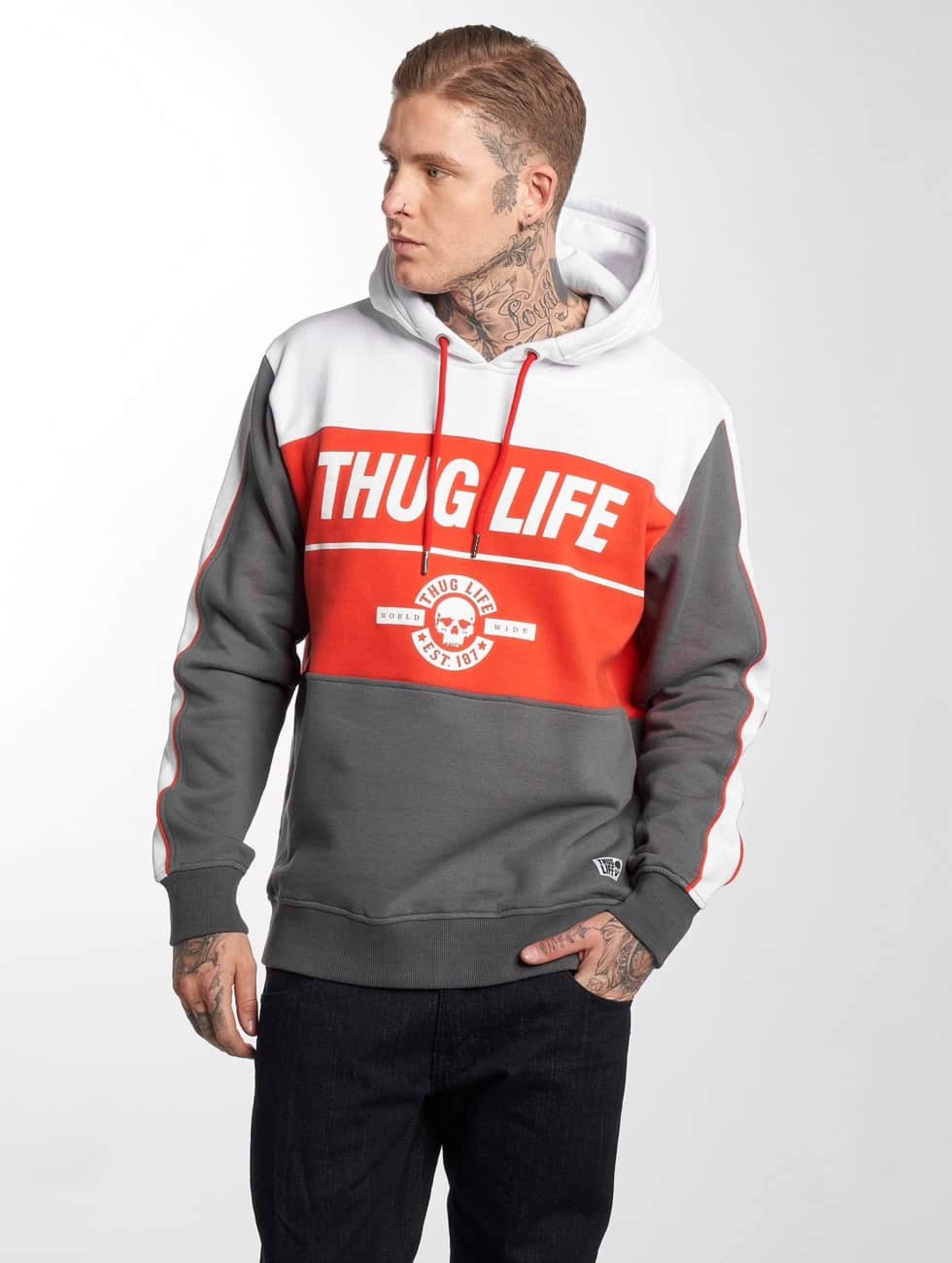 Thug Life / Hoodie Jaguar in grey 4XL