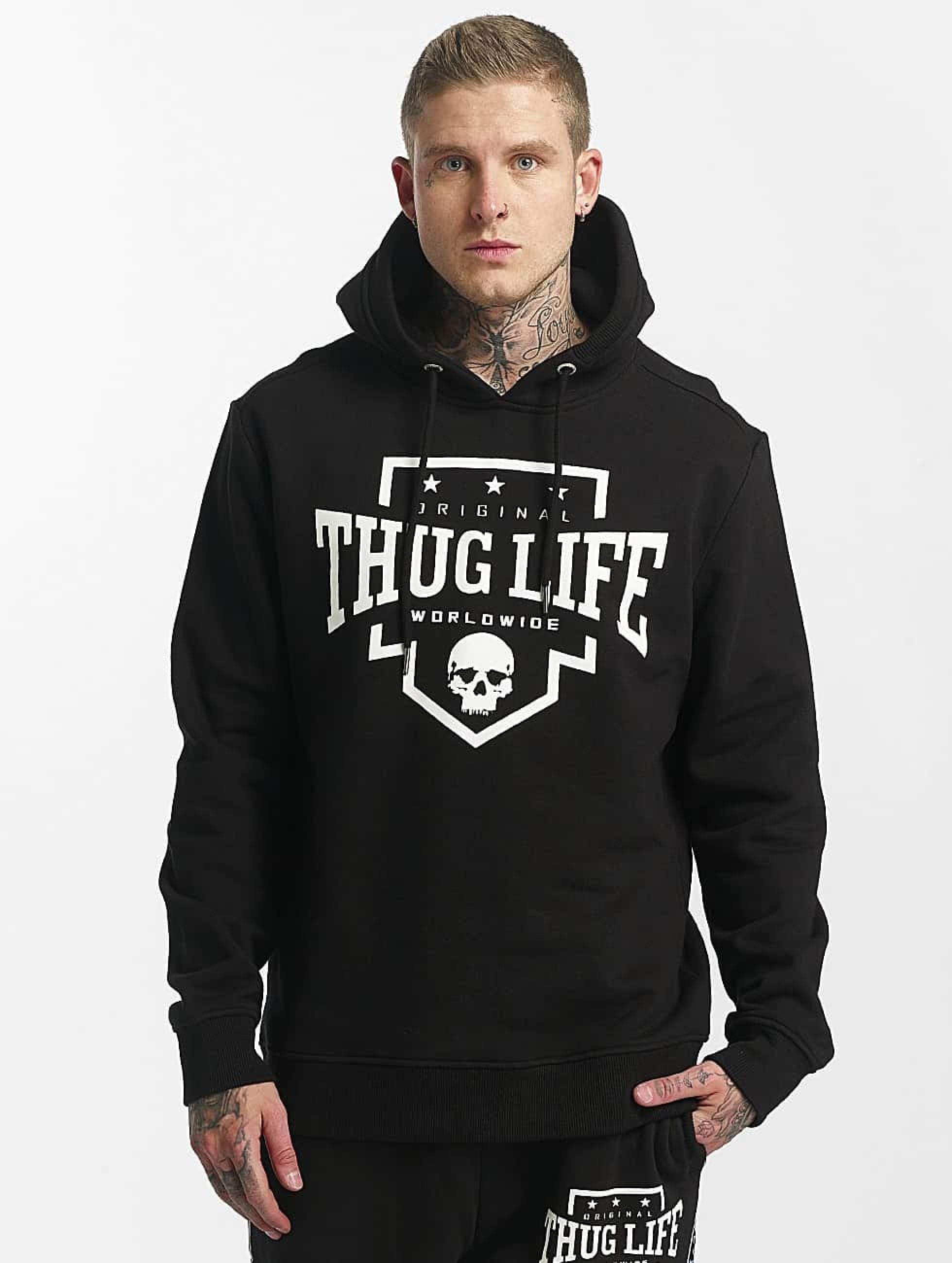 Thug Life / Hoodie Puma in black 5XL
