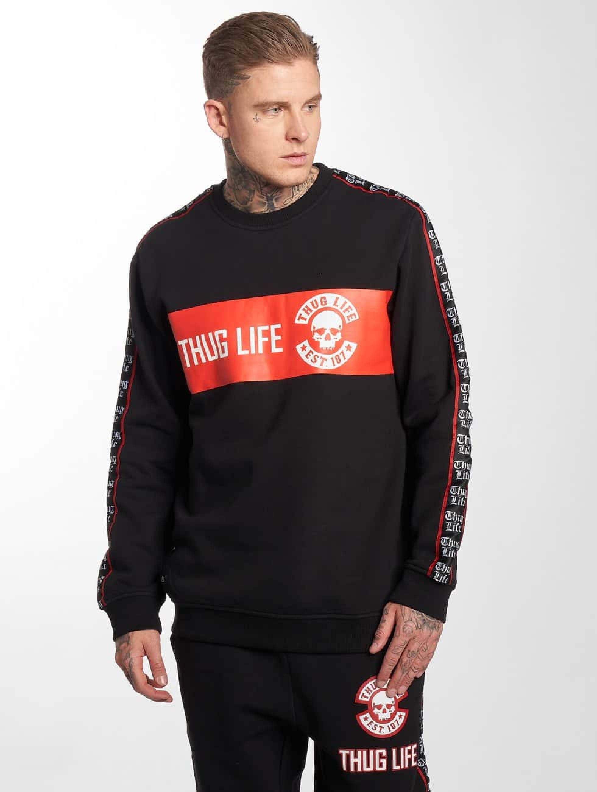 Thug Life / Jumper Lux in black 4XL