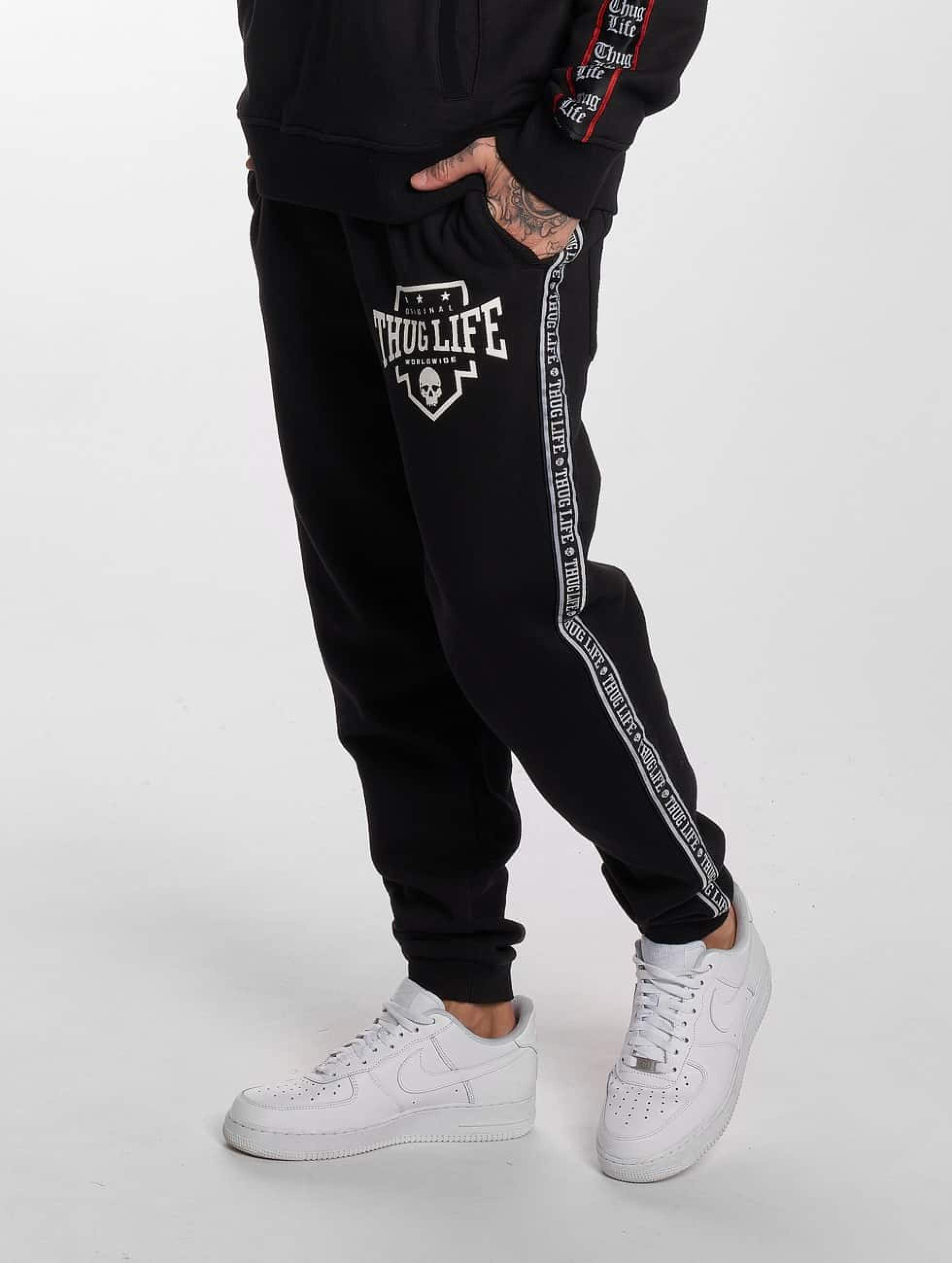 Thug Life / Sweat Pant Worldwide in black M