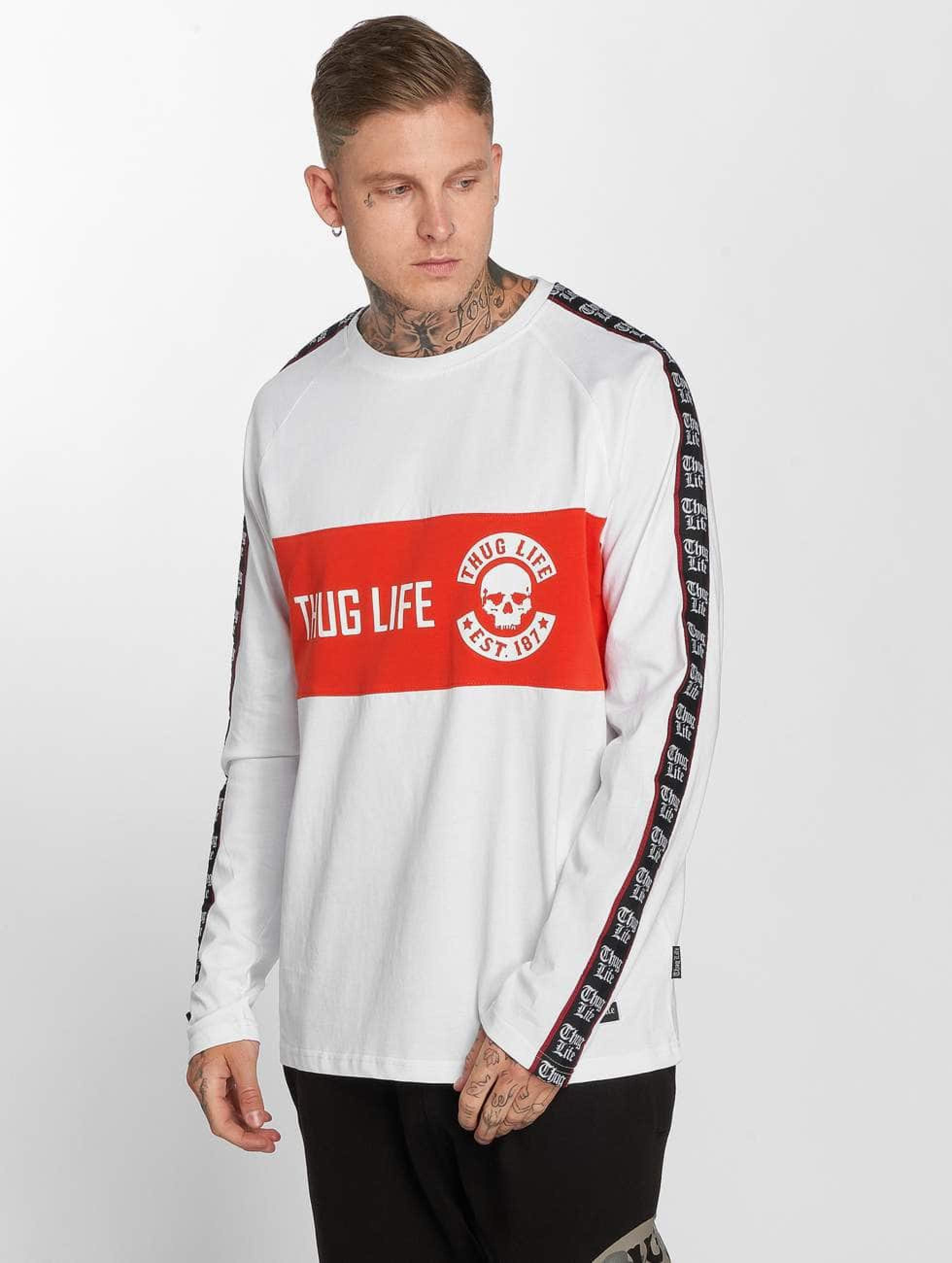 Thug Life / Longsleeve Lux in white M