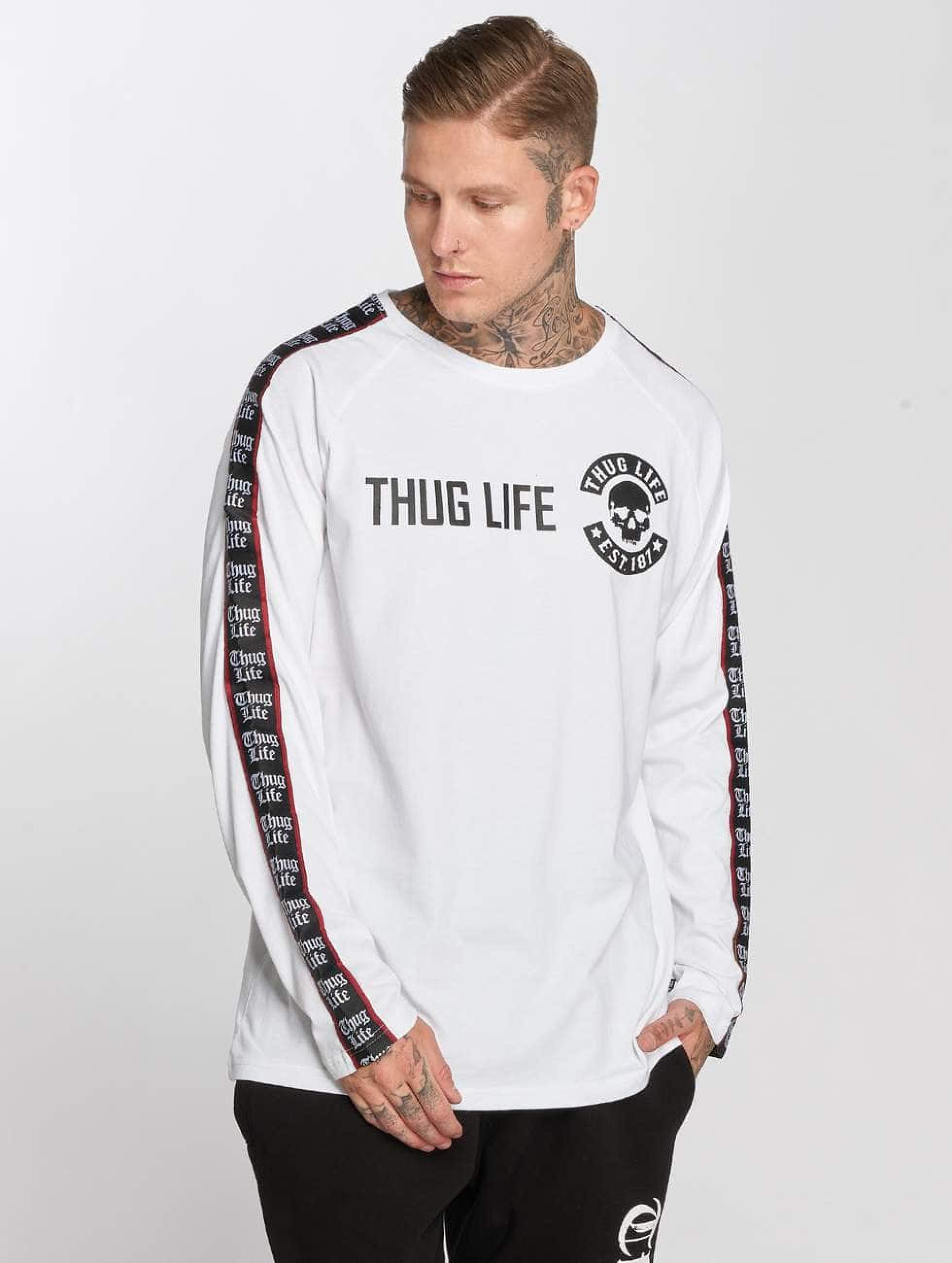 Thug Life / Longsleeve Lux in white L