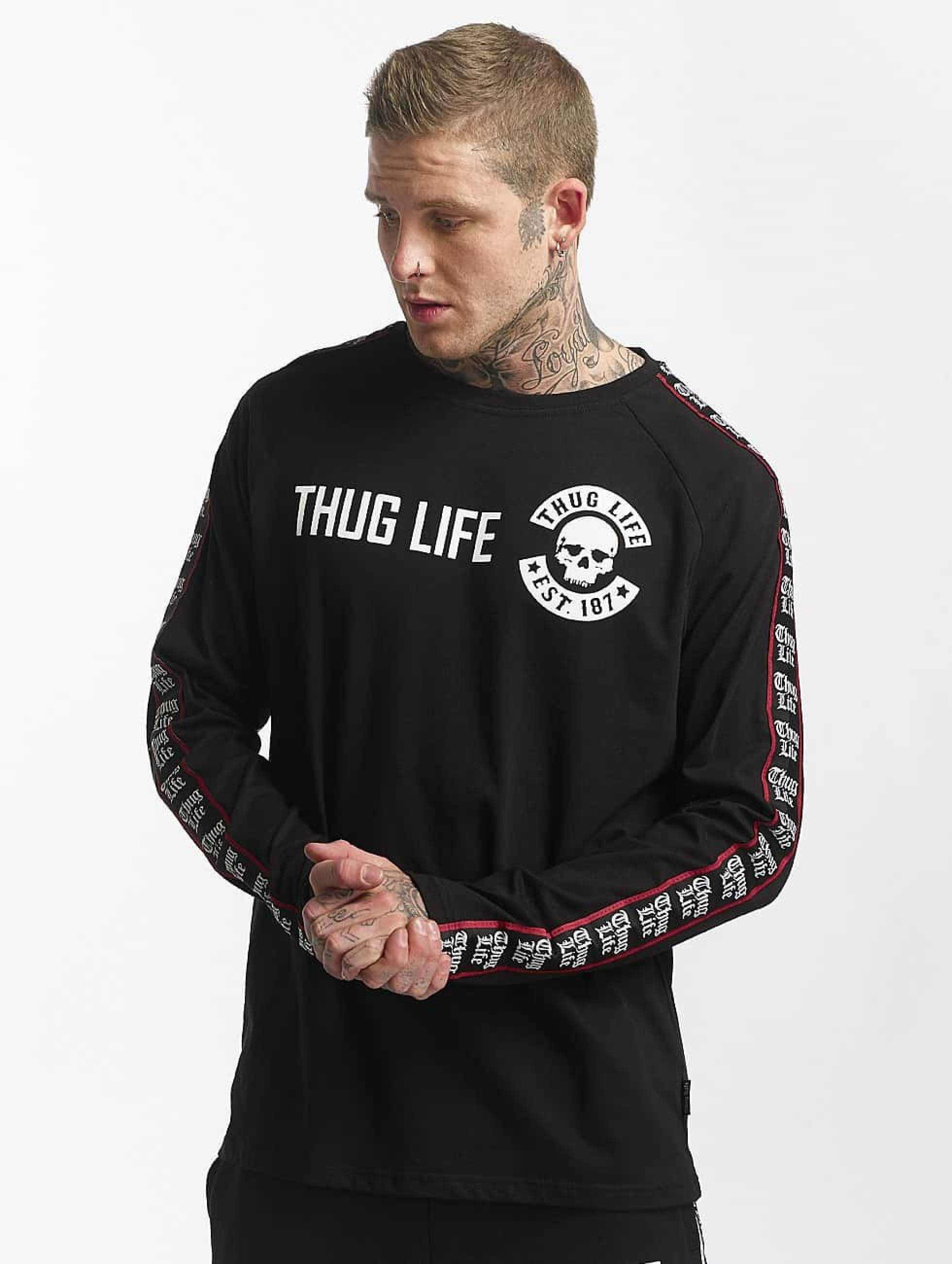 Thug Life / Longsleeve Lux in black XL