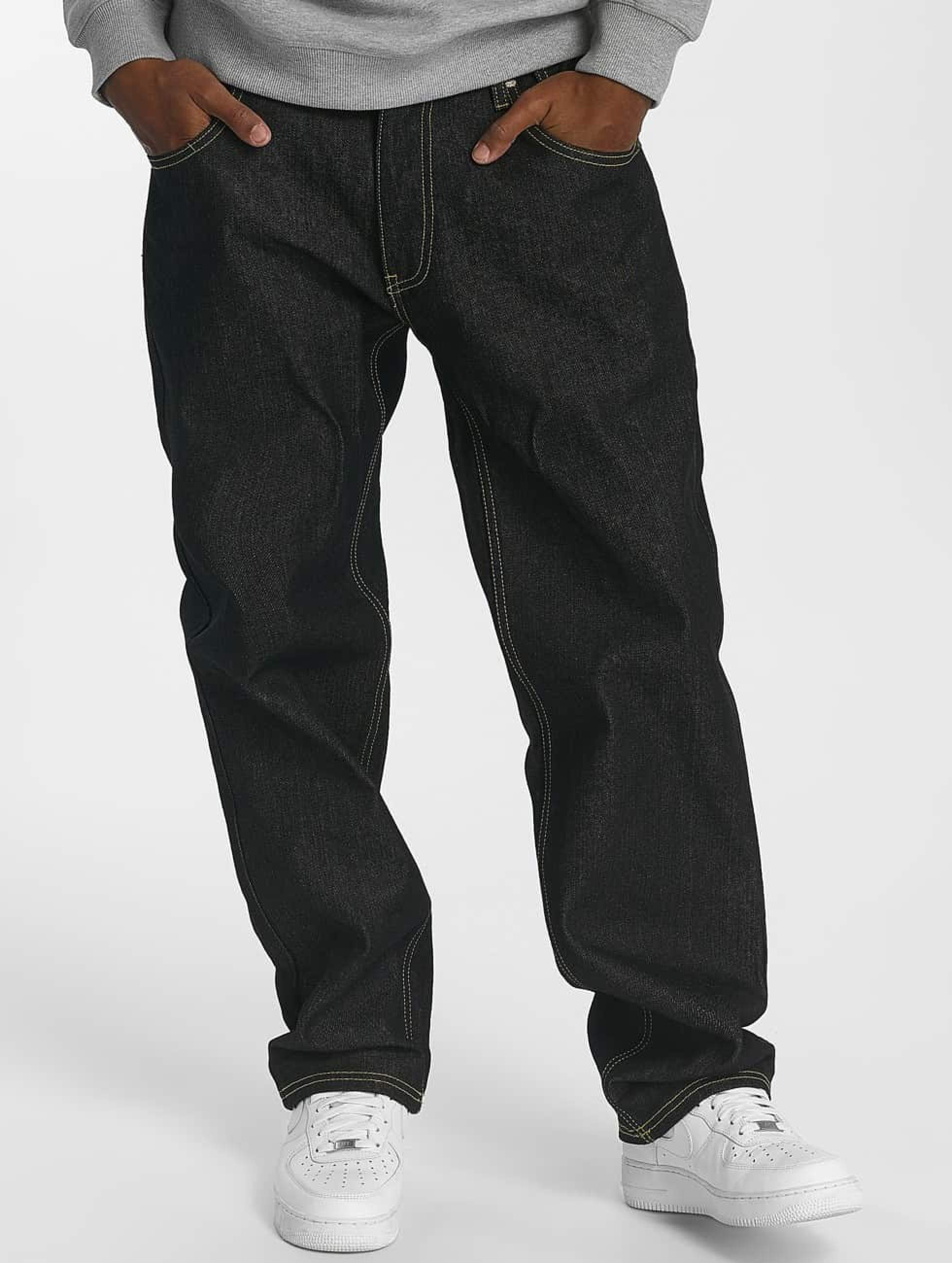 Ecko Unltd. / Loose Fit Jeans Camp's Lo in black W 42 L 34