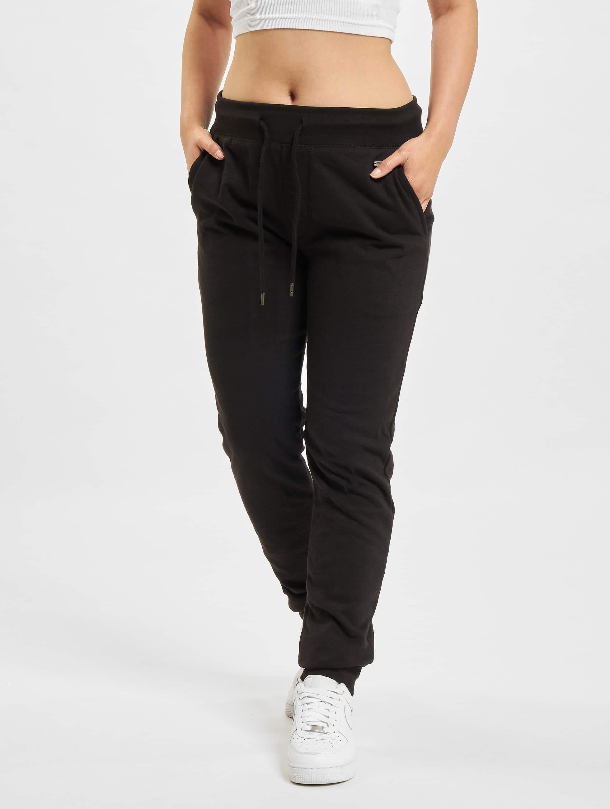Just Rhyse / Sweat Pant Poppy in black XS
