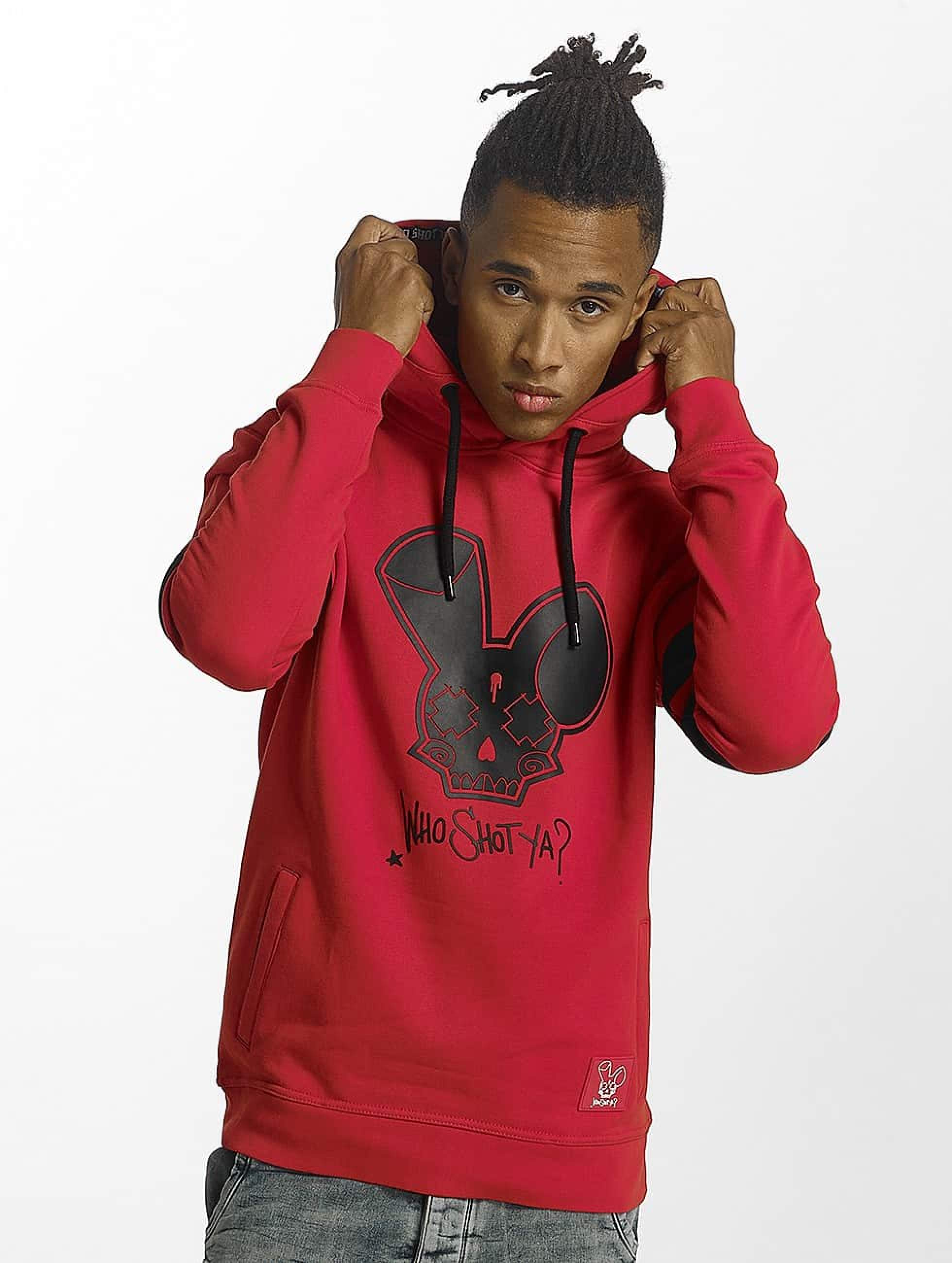Who Shot Ya? / Hoodie Royal Gunz in red M