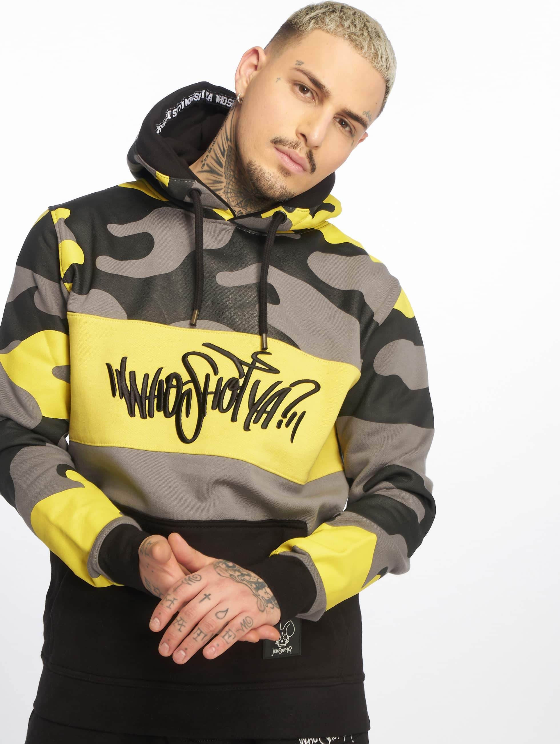 Who Shot Ya? / Hoodie Devious WW in yellow L