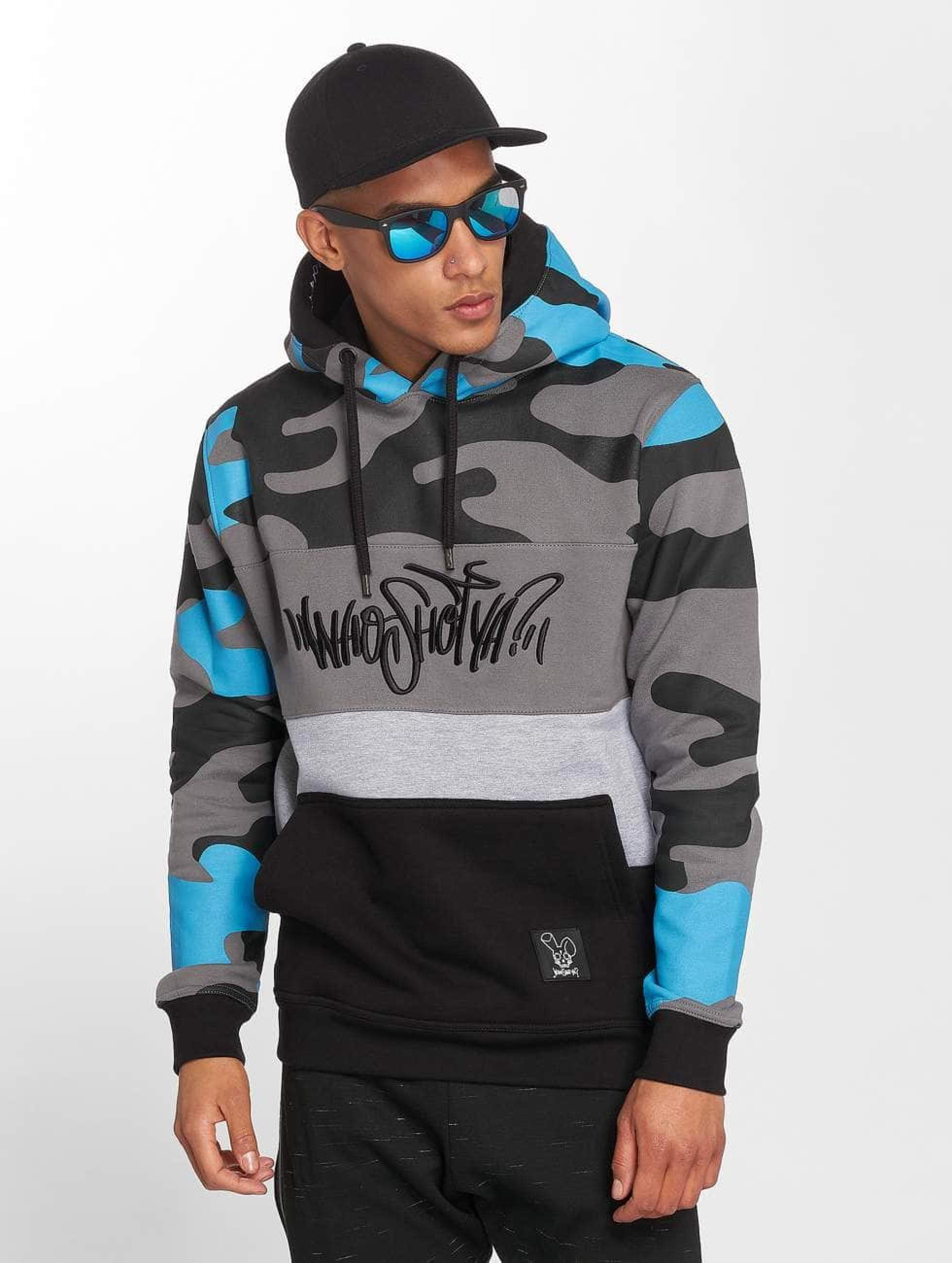 Who Shot Ya? / Hoodie Devious WW in blue S