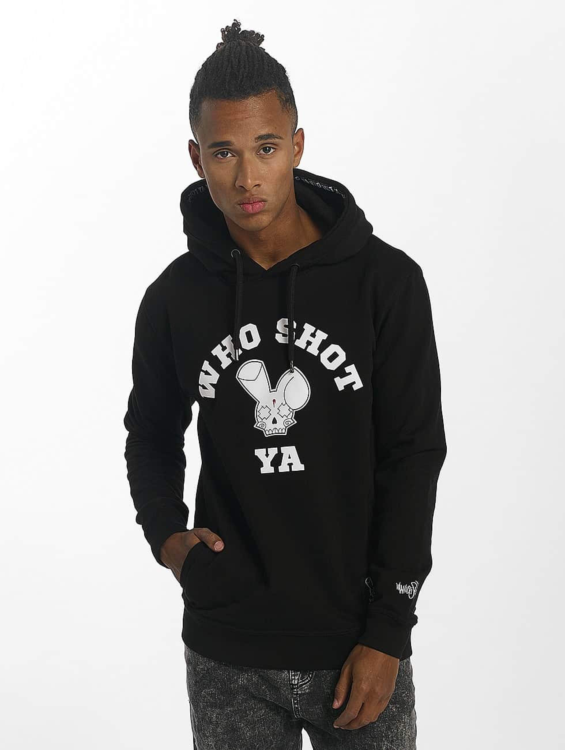 Who Shot Ya? / Hoodie Golden W Clan in black M