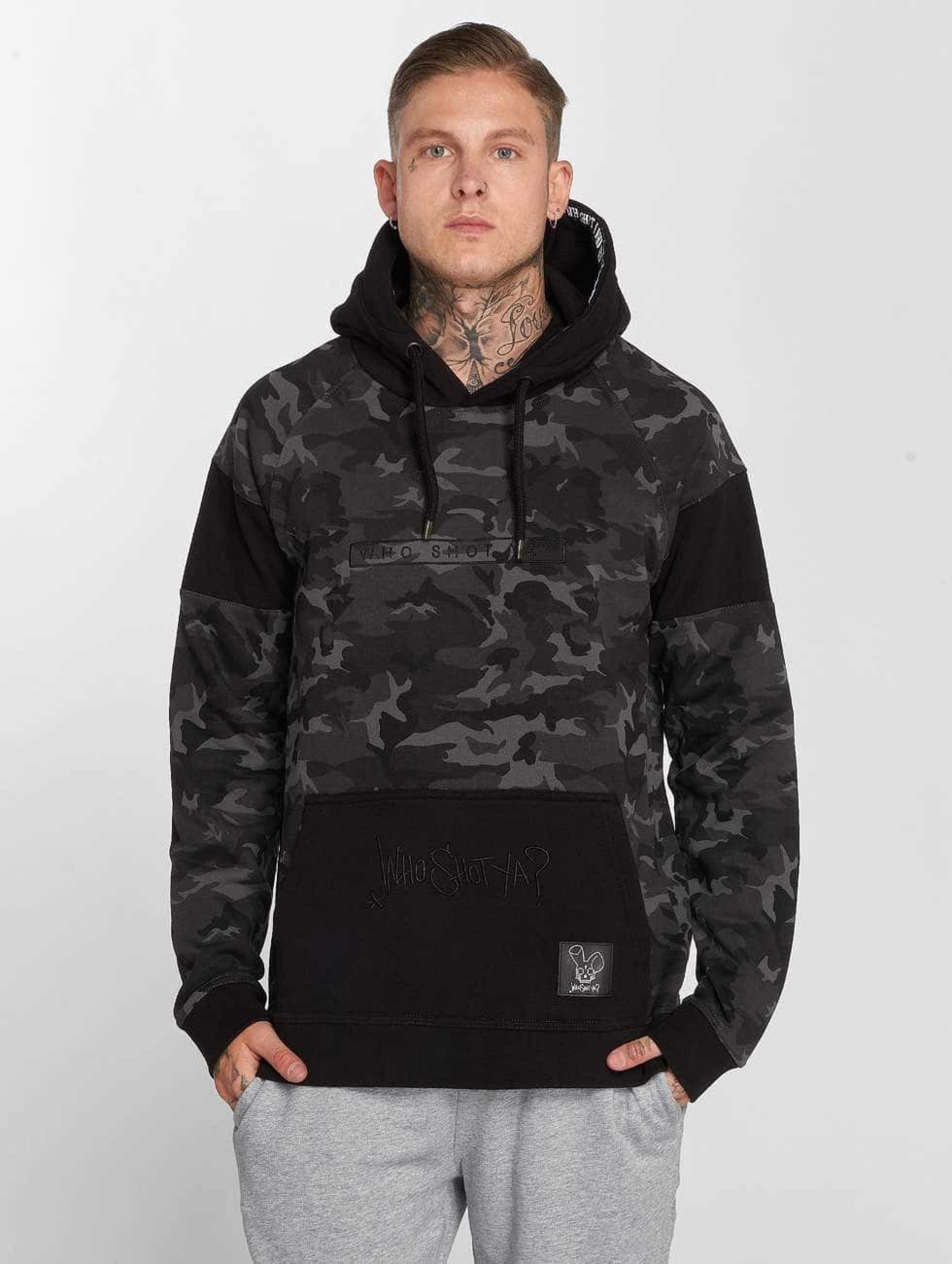 Who Shot Ya? / Hoodie Emperor W in camouflage S