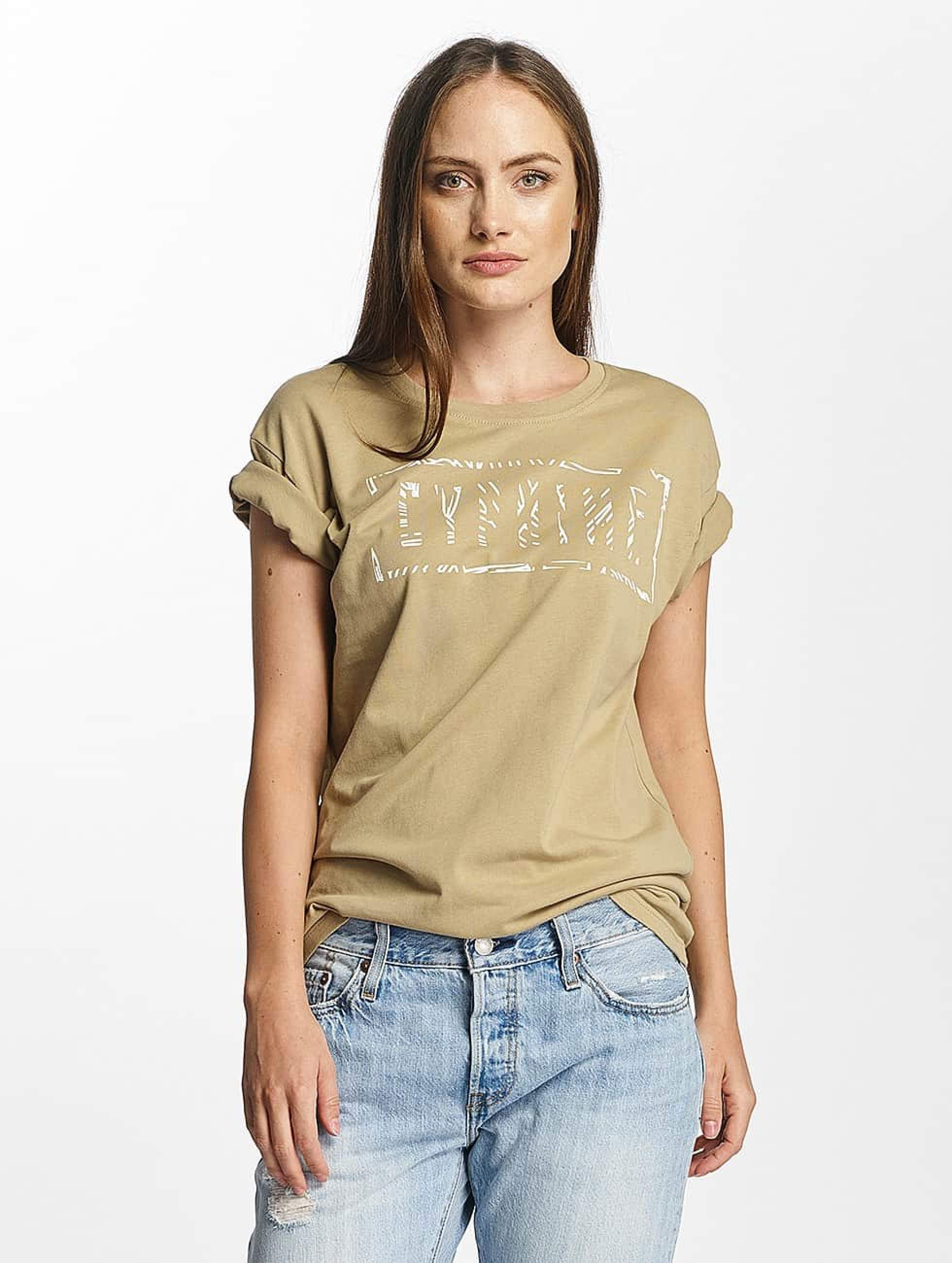 Cyprime / T-Shirt Cerium Oversized in beige XL