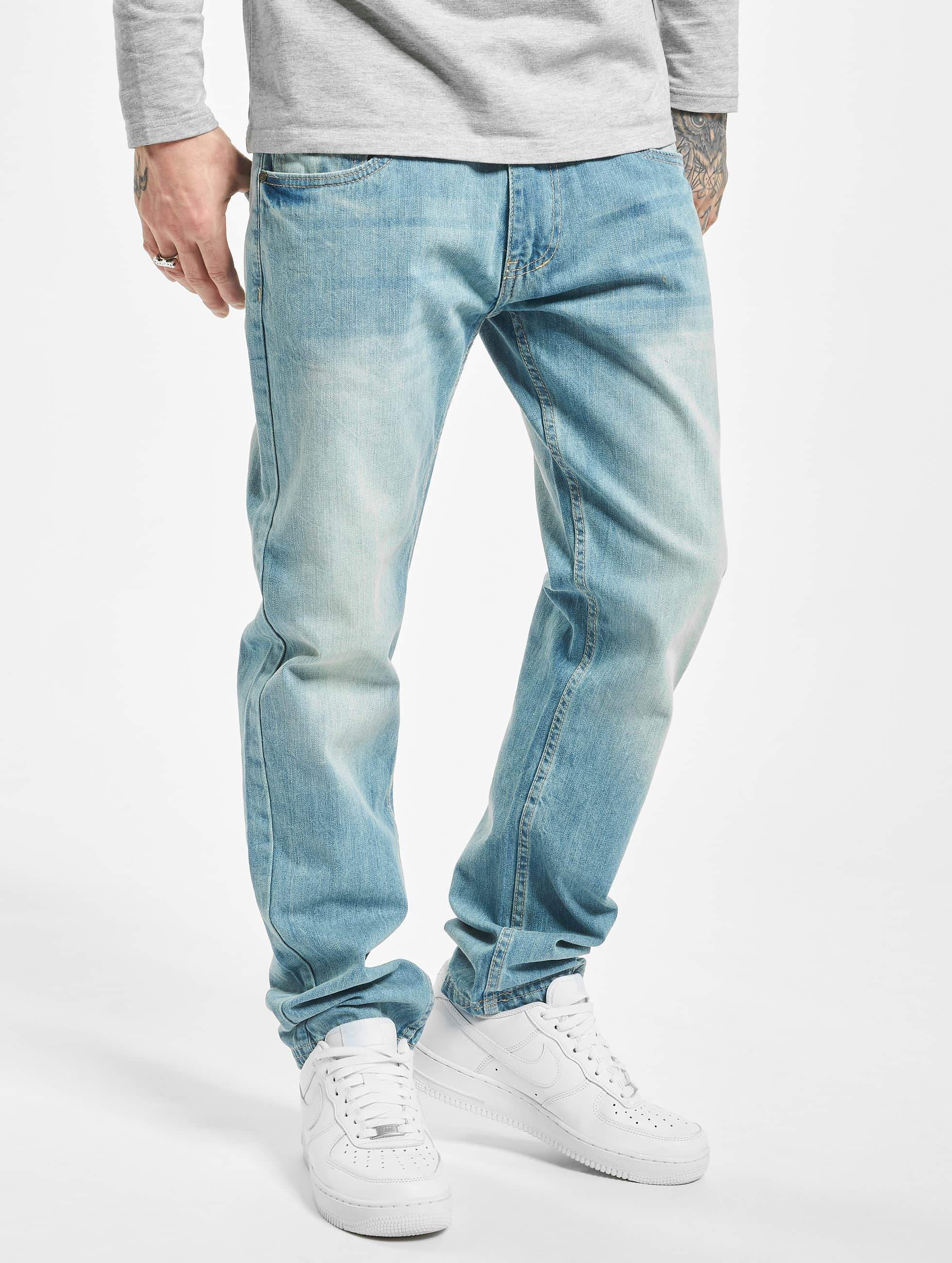 Ecko Unltd. / Straight Fit Jeans Bour Bonstreet in blue W 32 L 34