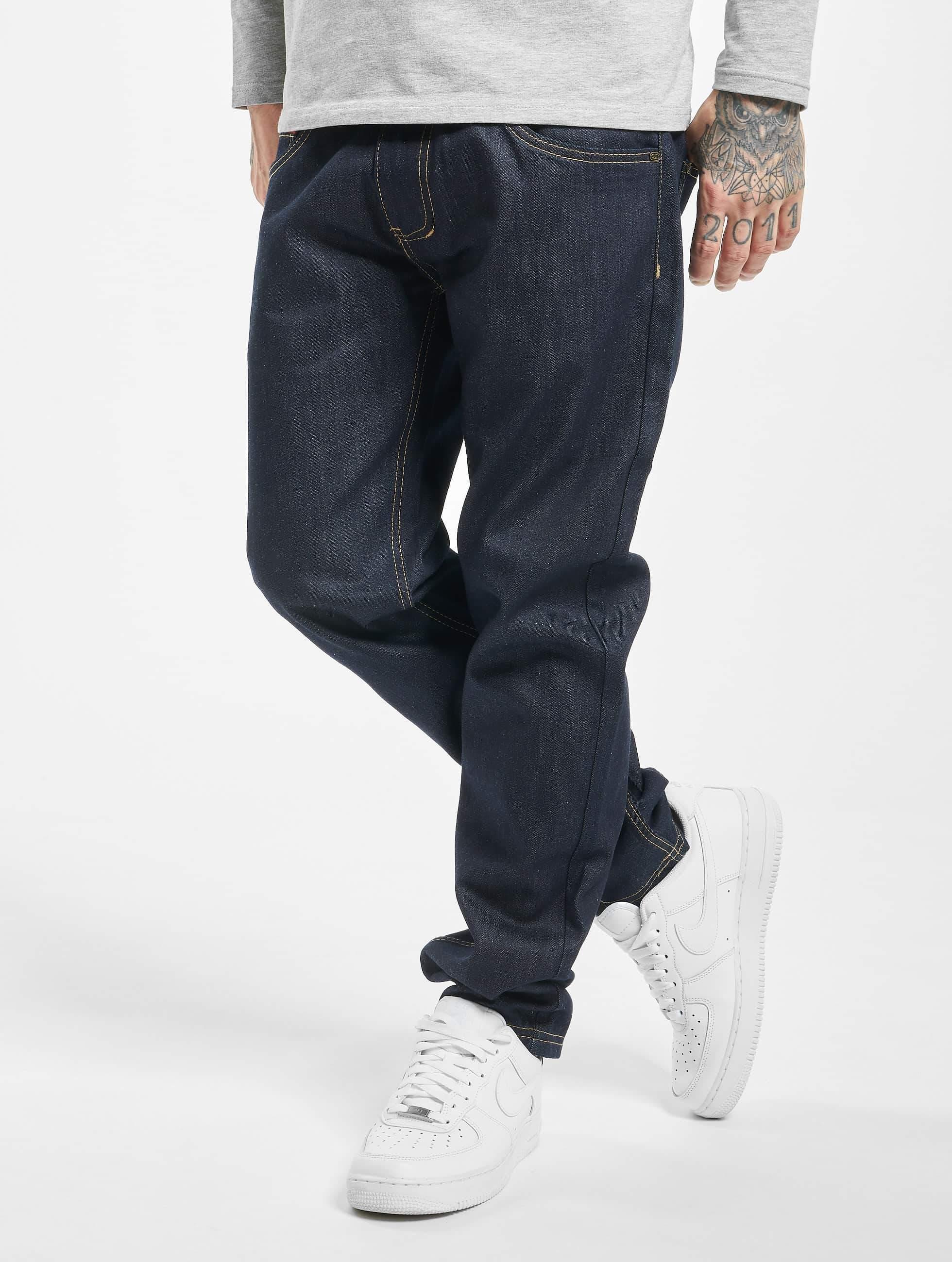 Ecko Unltd. / Straight Fit Jeans Bour Bonstreet in blue W 36 L 34
