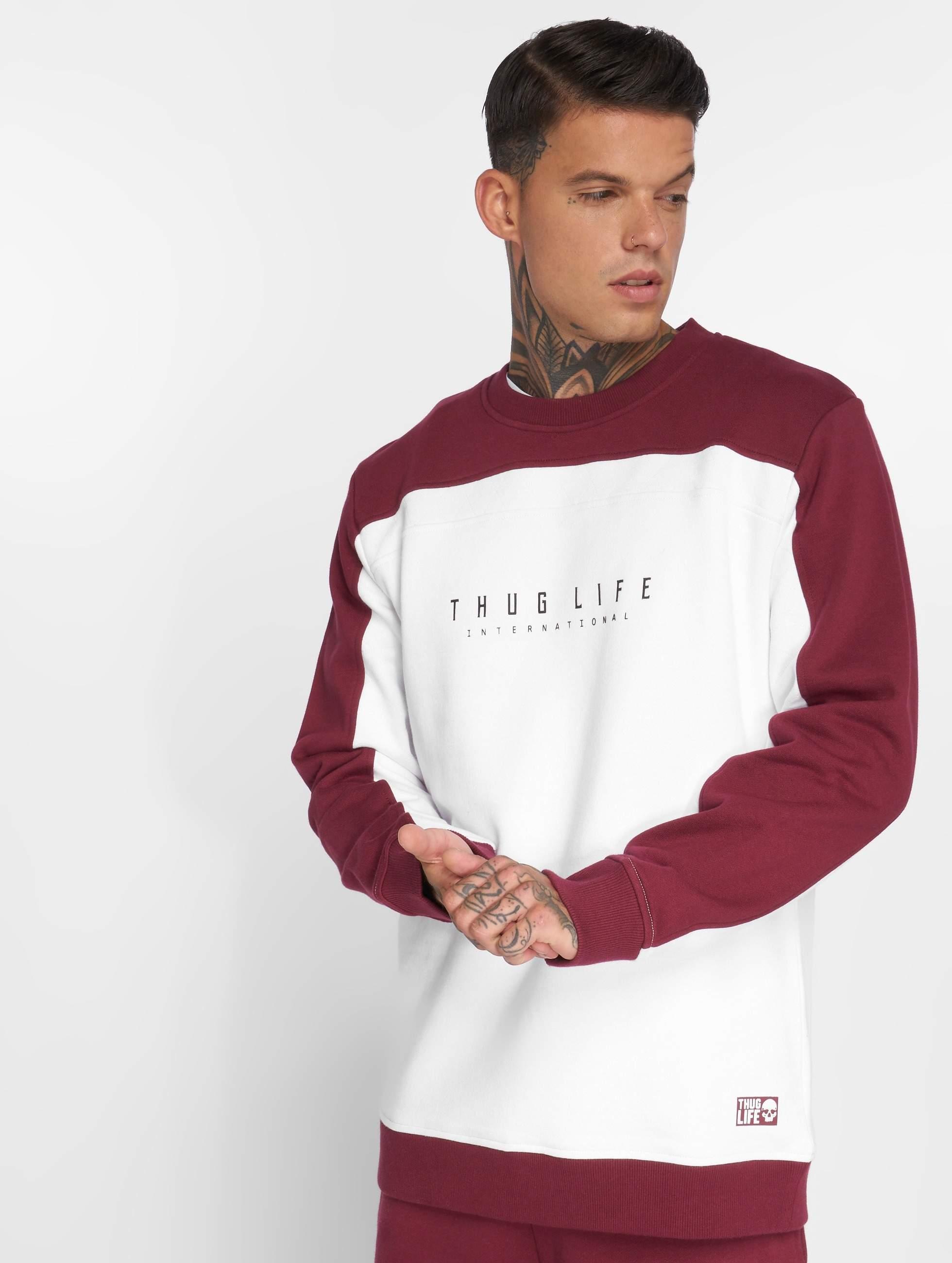 Thug Life / Jumper Avantgarde in white XL