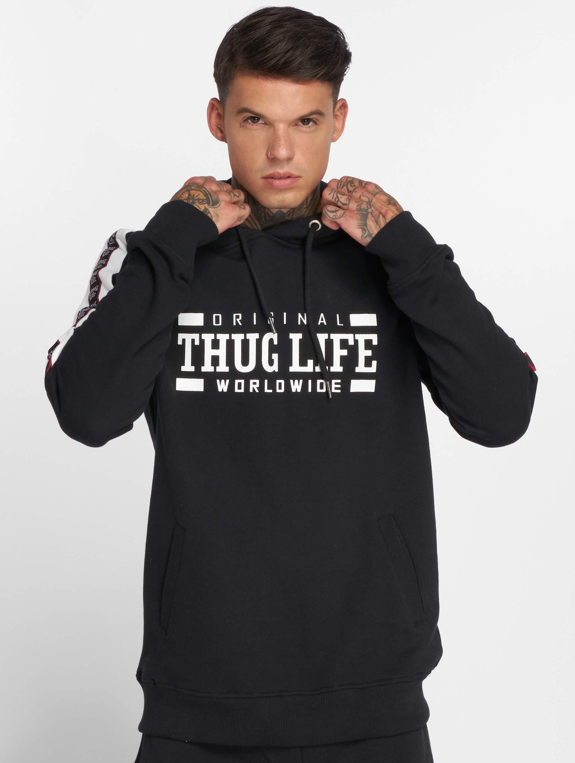 Thug Life / Hoodie Python in black L