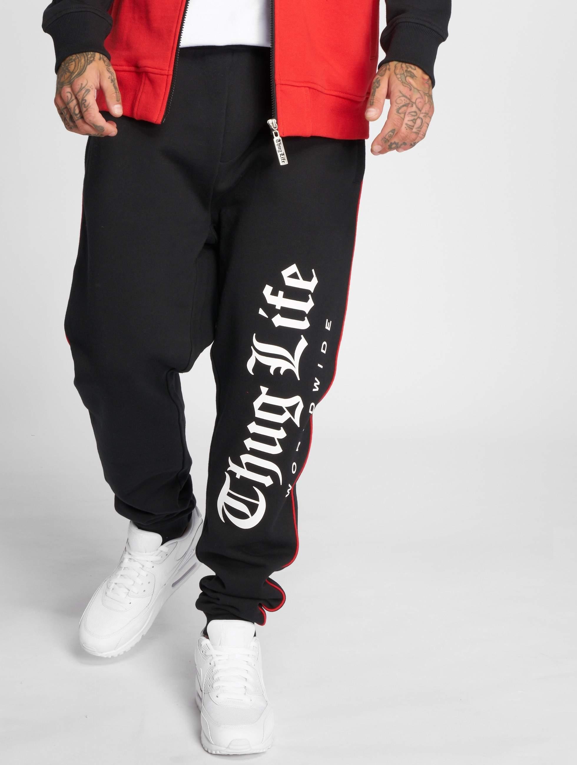 Thug Life / Sweat Pant Blaze in black S