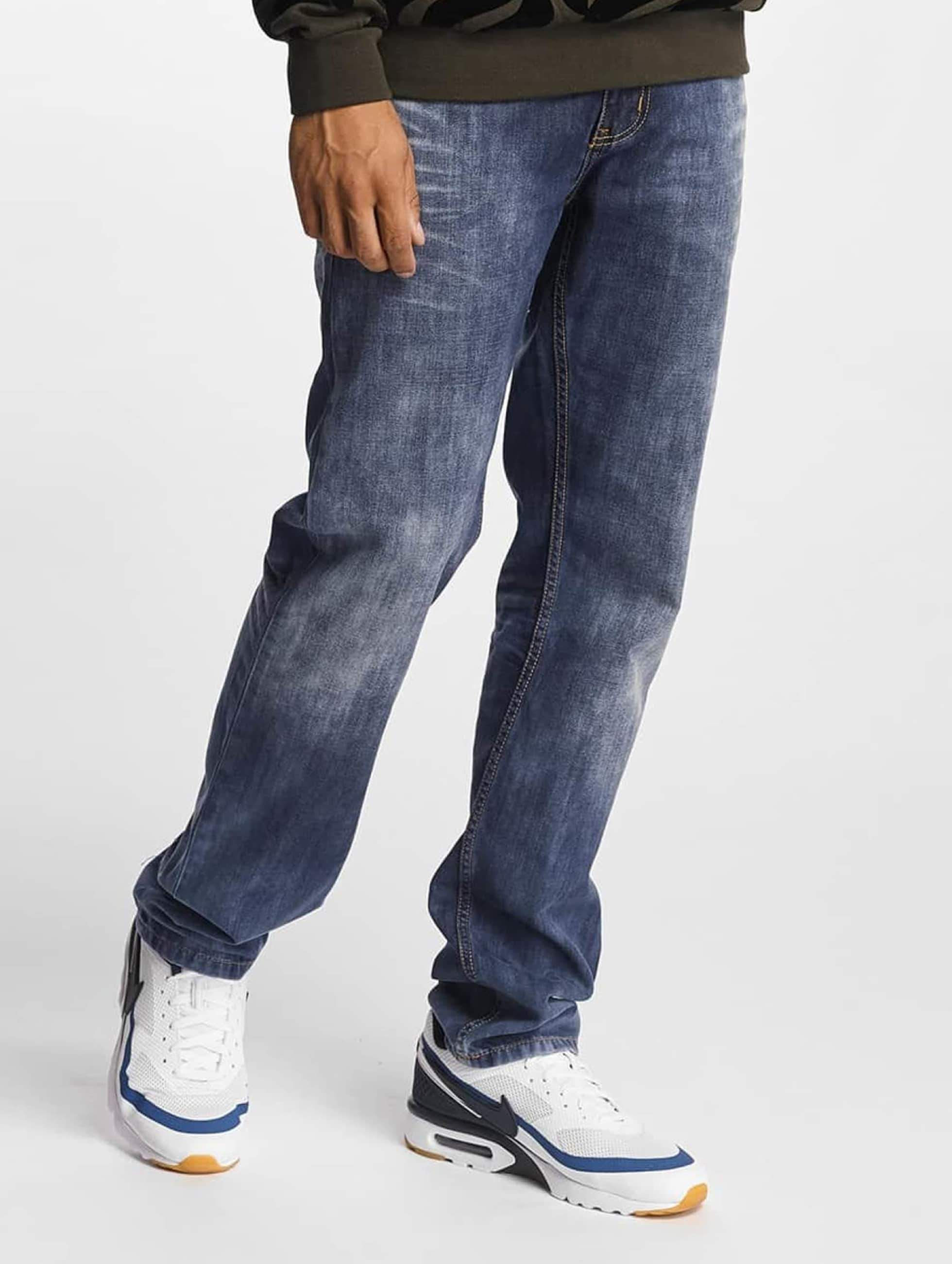 Rocawear / Straight Fit Jeans Relax in blue W 32