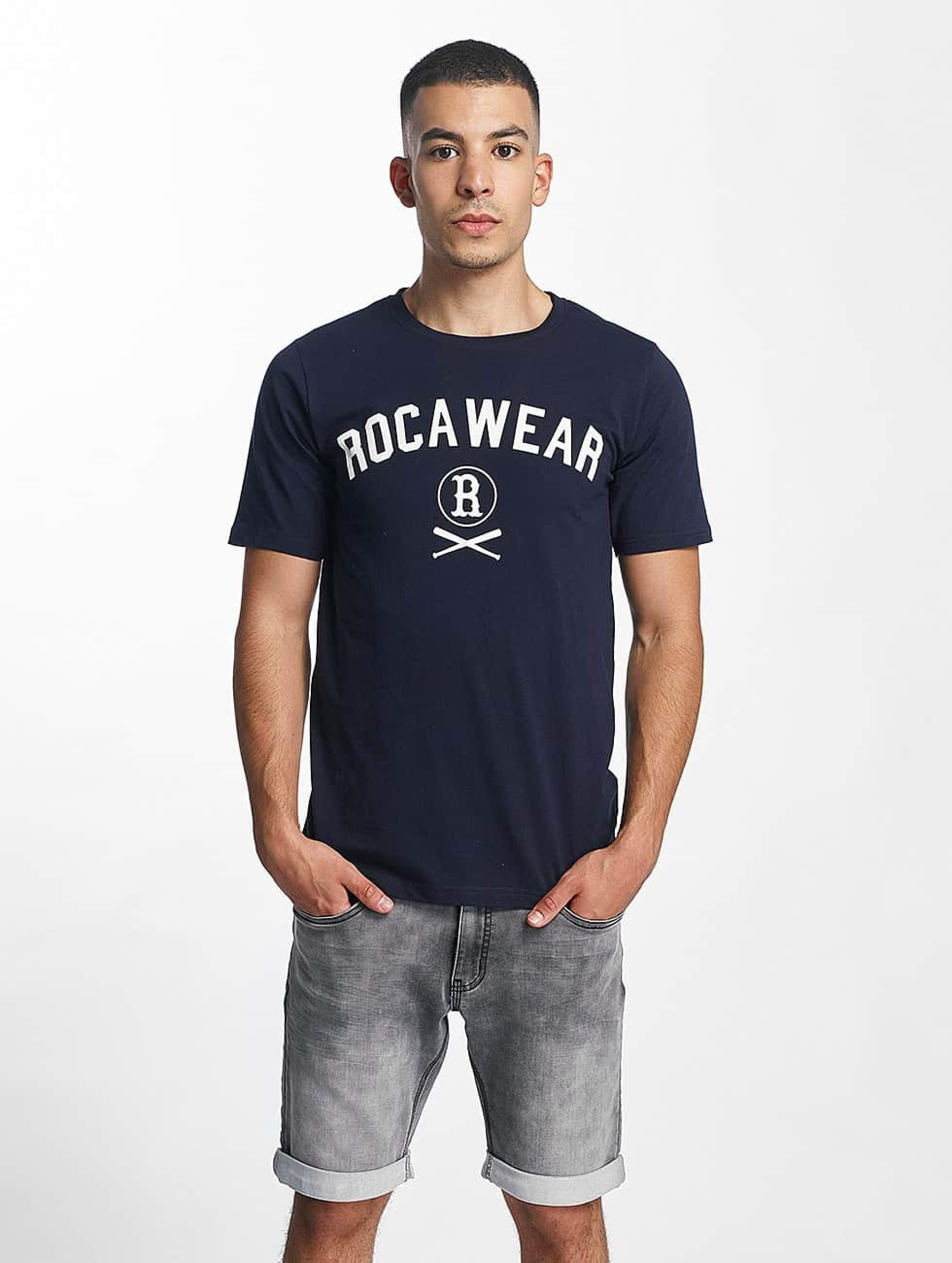 Rocawear / T-Shirt Logo in blue M