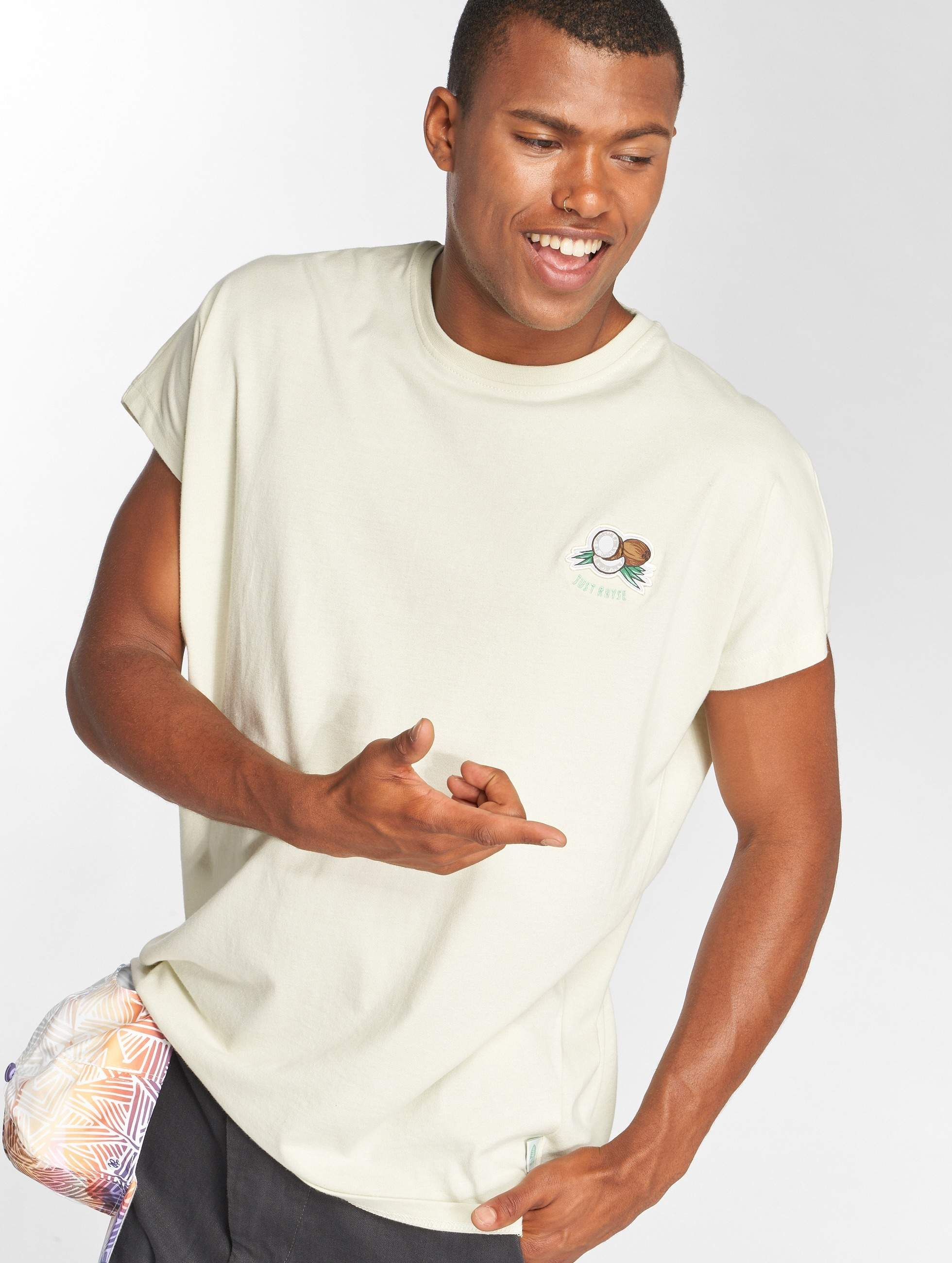 Just Rhyse / T-Shirt Catacaos in beige S