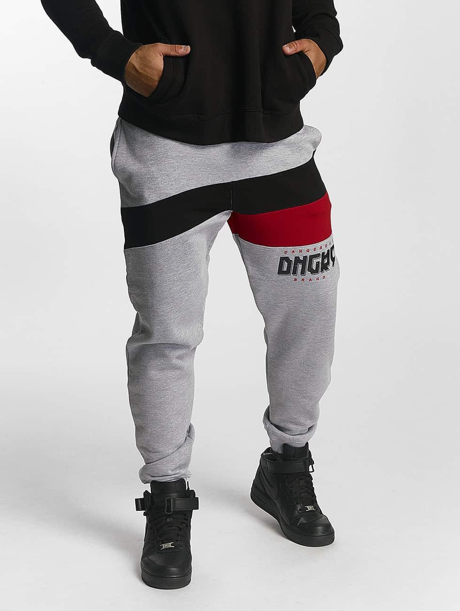 Dangerous DNGRS / Sweat Pant Cutter in grey XL