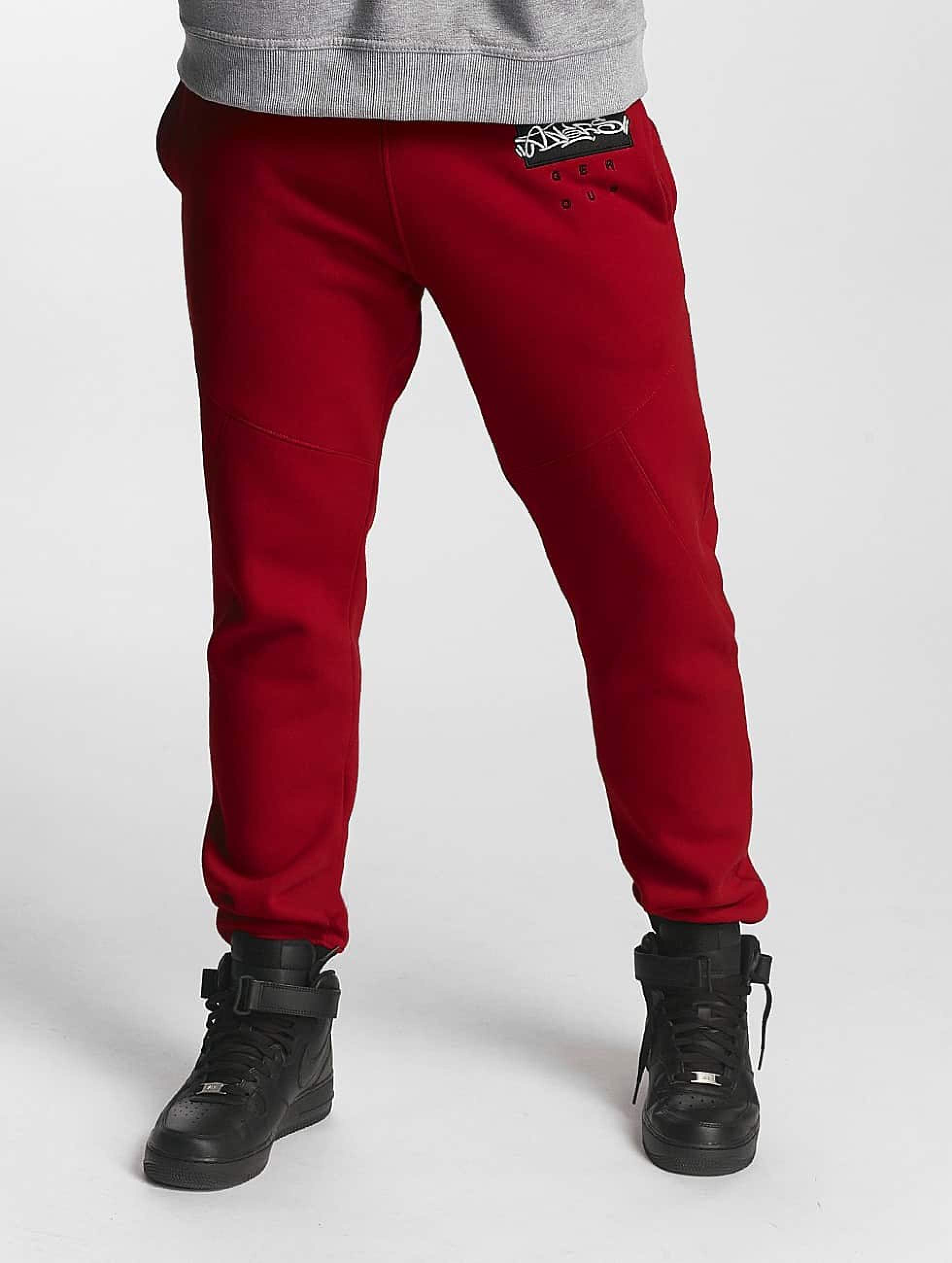 Dangerous DNGRS / Sweat Pant Topping in red 5XL