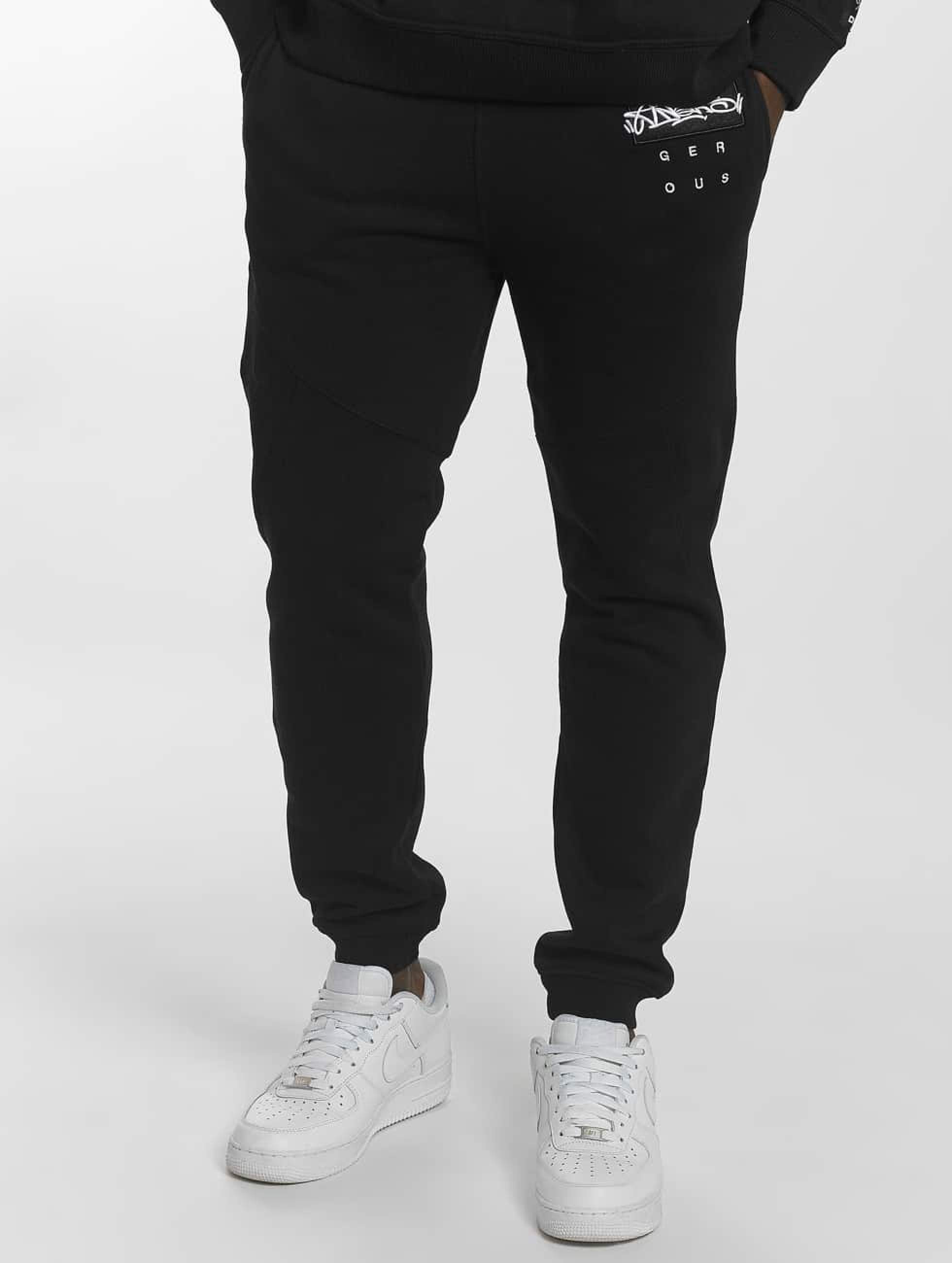 Dangerous DNGRS / Sweat Pant Topping in black XL