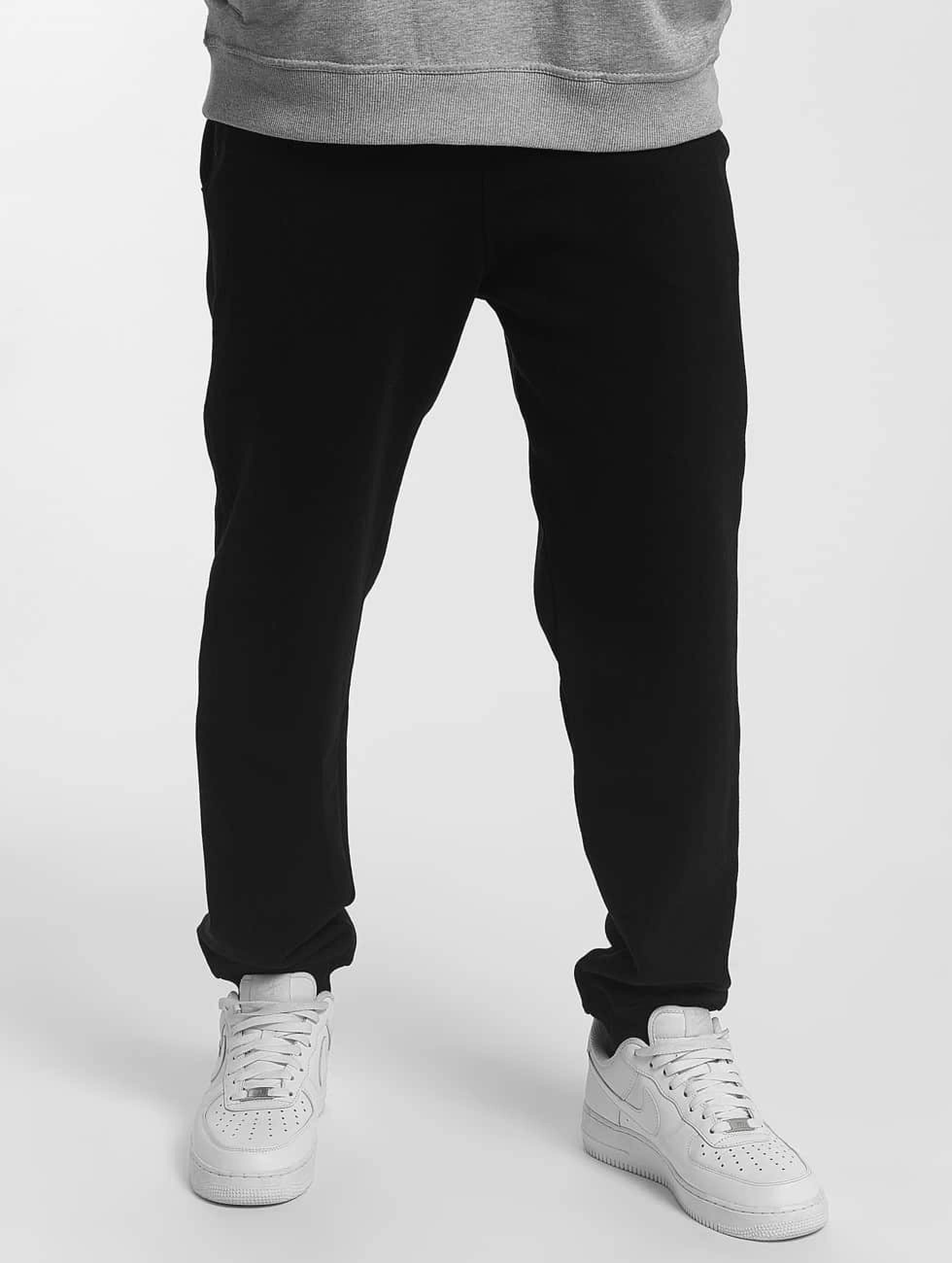 Dangerous DNGRS / Sweat Pant Twoblock in black 2XL
