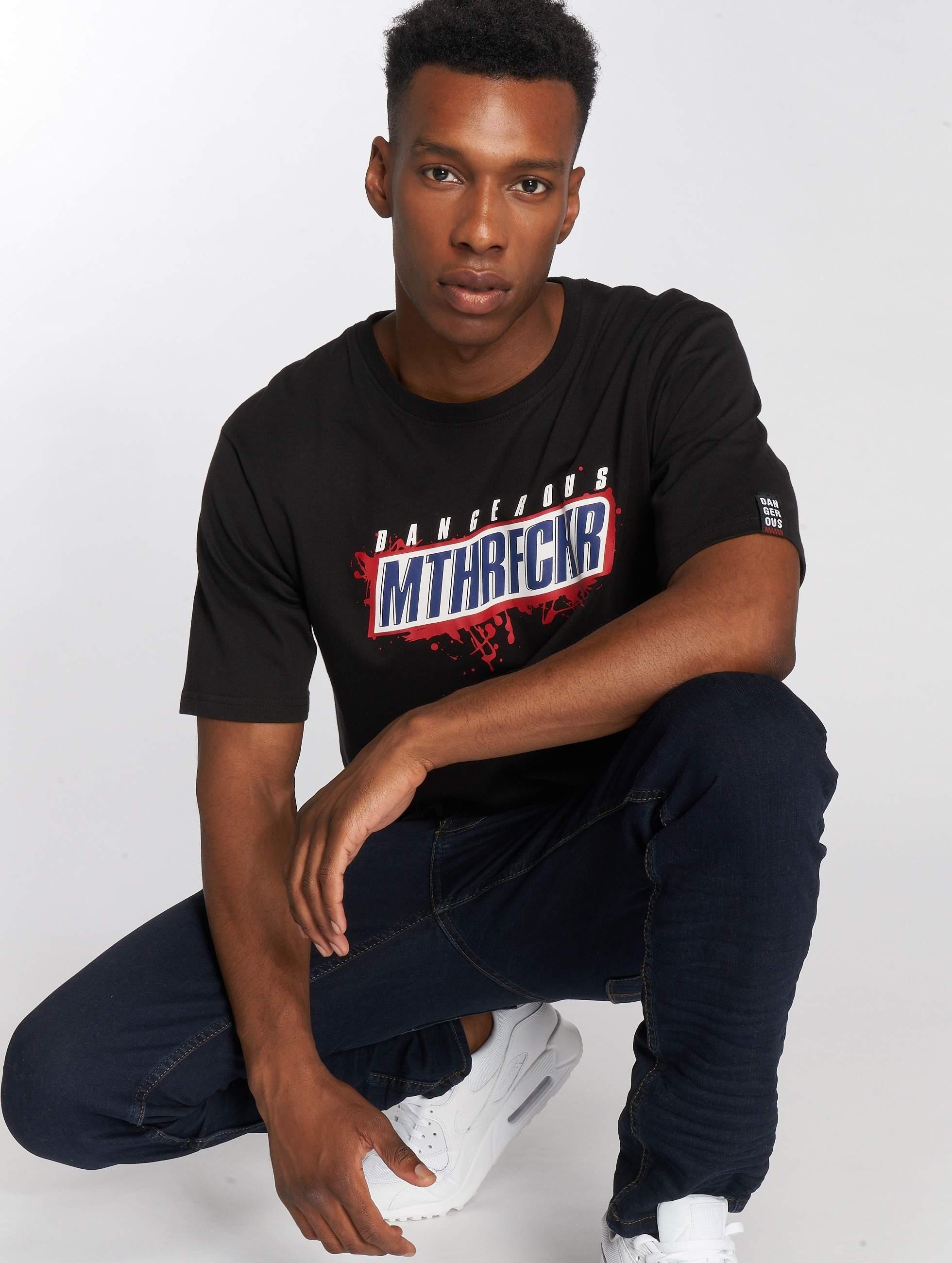 Dangerous DNGRS / T-Shirt MTHRF... in black XL