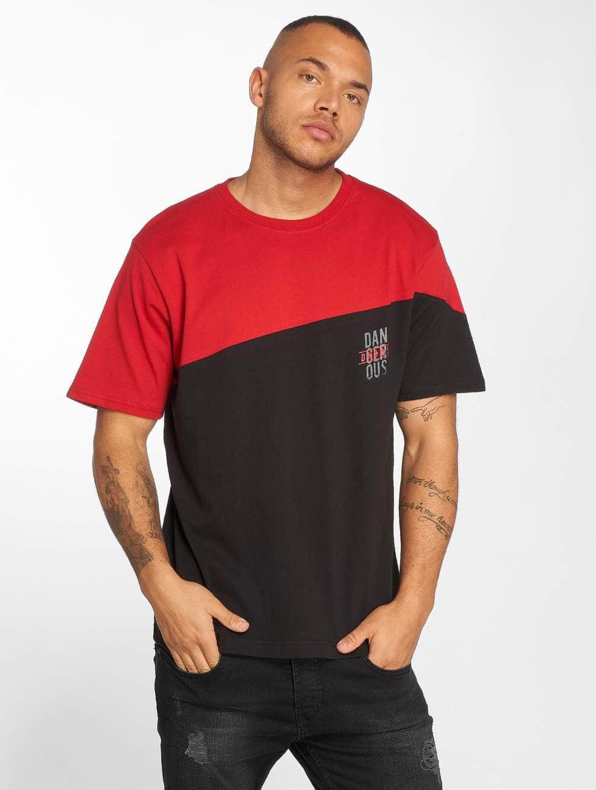 Dangerous DNGRS / T-Shirt Dangerscript in red L