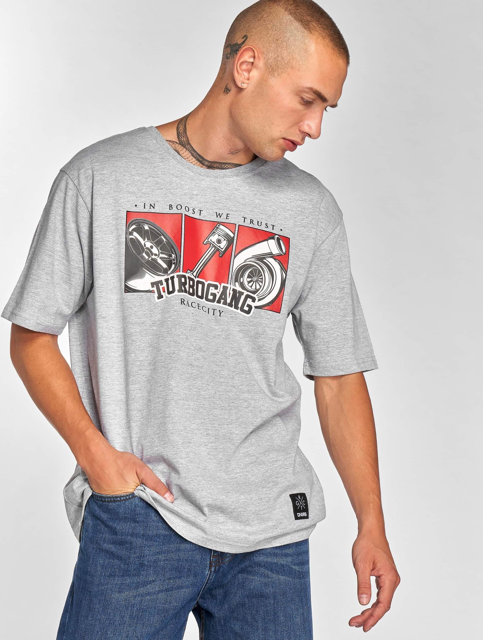 Dangerous DNGRS / T-Shirt Race City IBWT in grey XL
