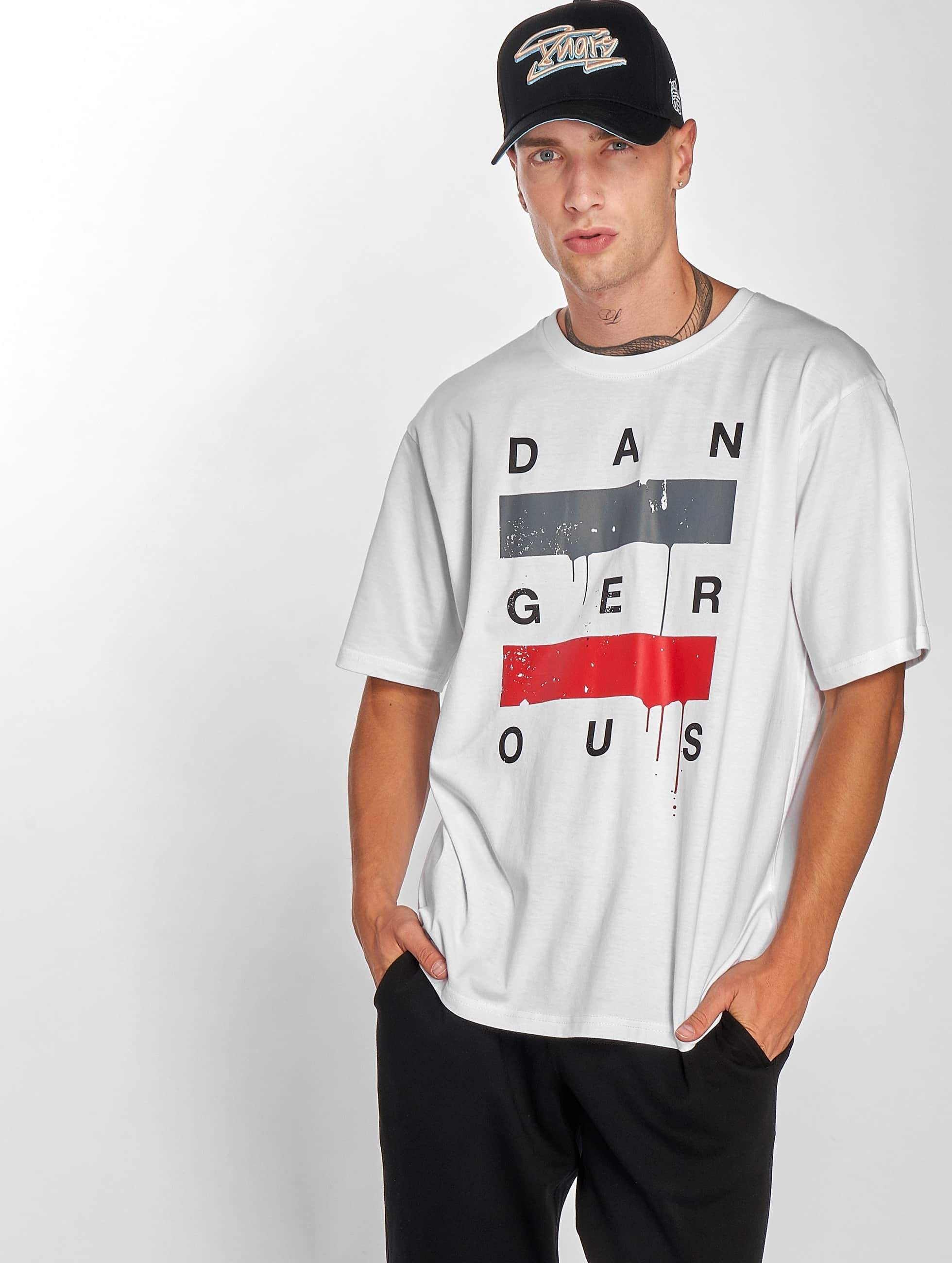 Dangerous DNGRS / T-Shirt Uncaged in white S