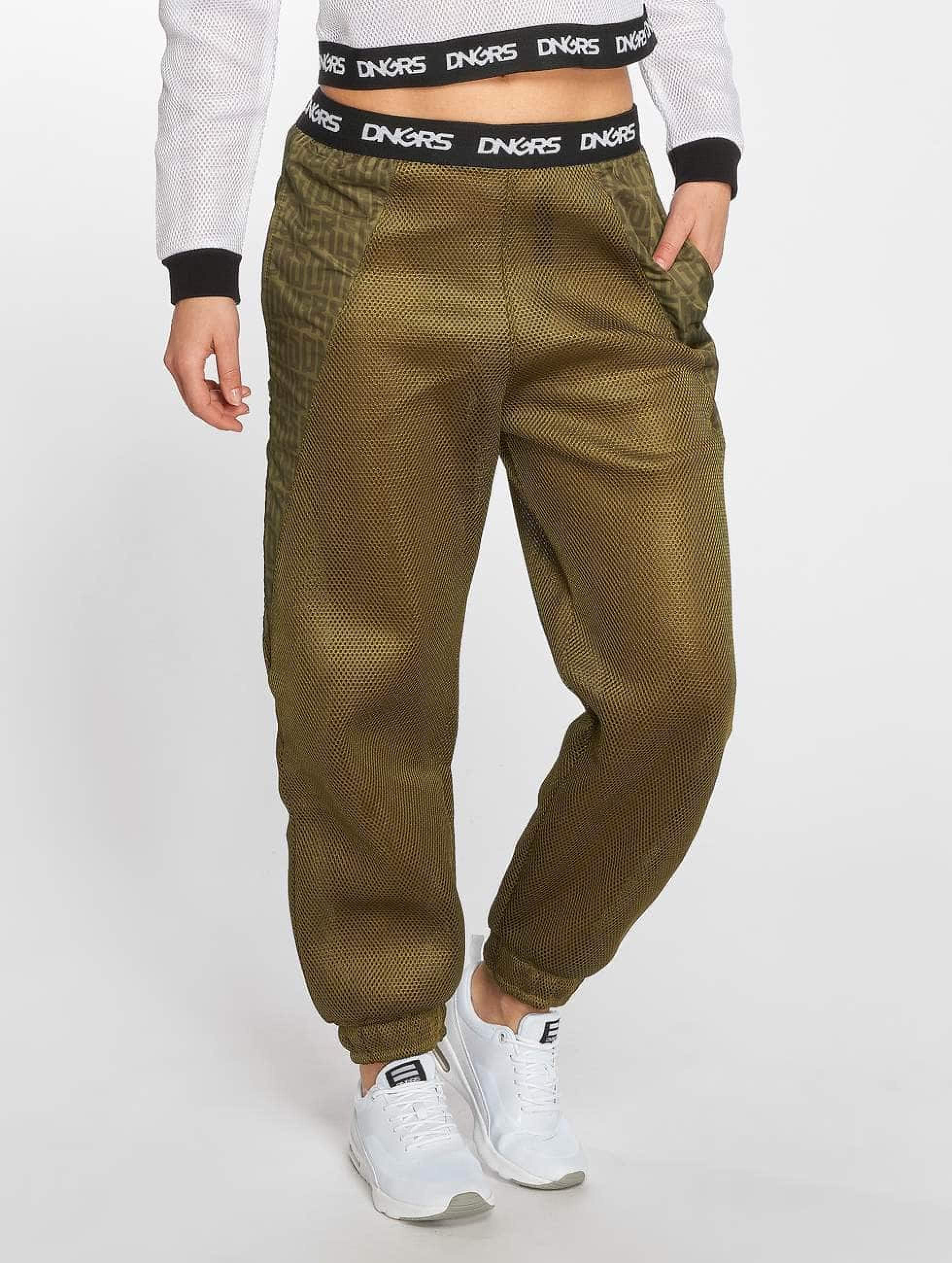Dangerous DNGRS / Sweat Pant Vista in olive XS