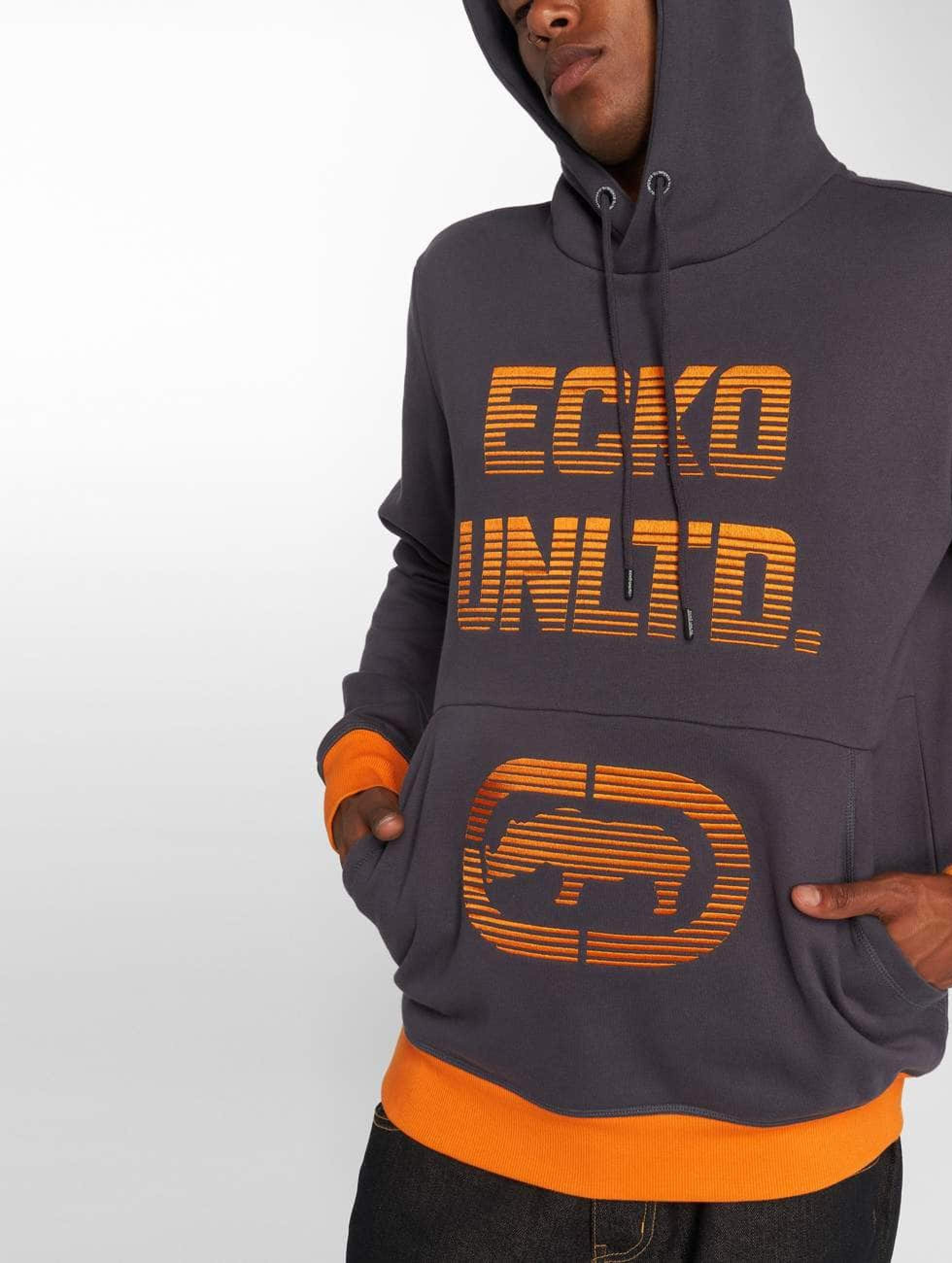 Ecko Unltd. / Hoodie Arizona Mills in grey 4XL