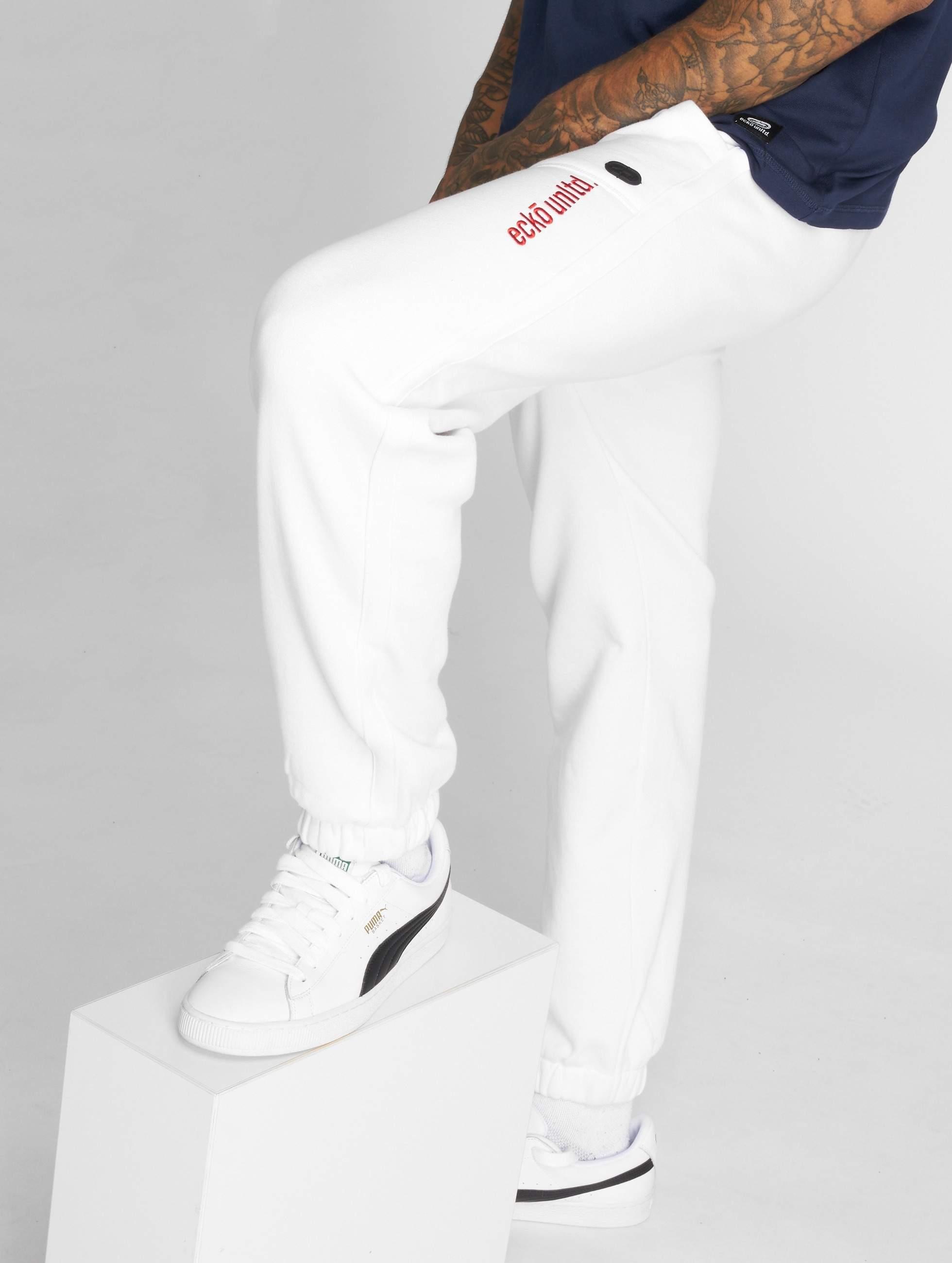 Ecko Unltd. / Sweat Pant First Avenue in white XL