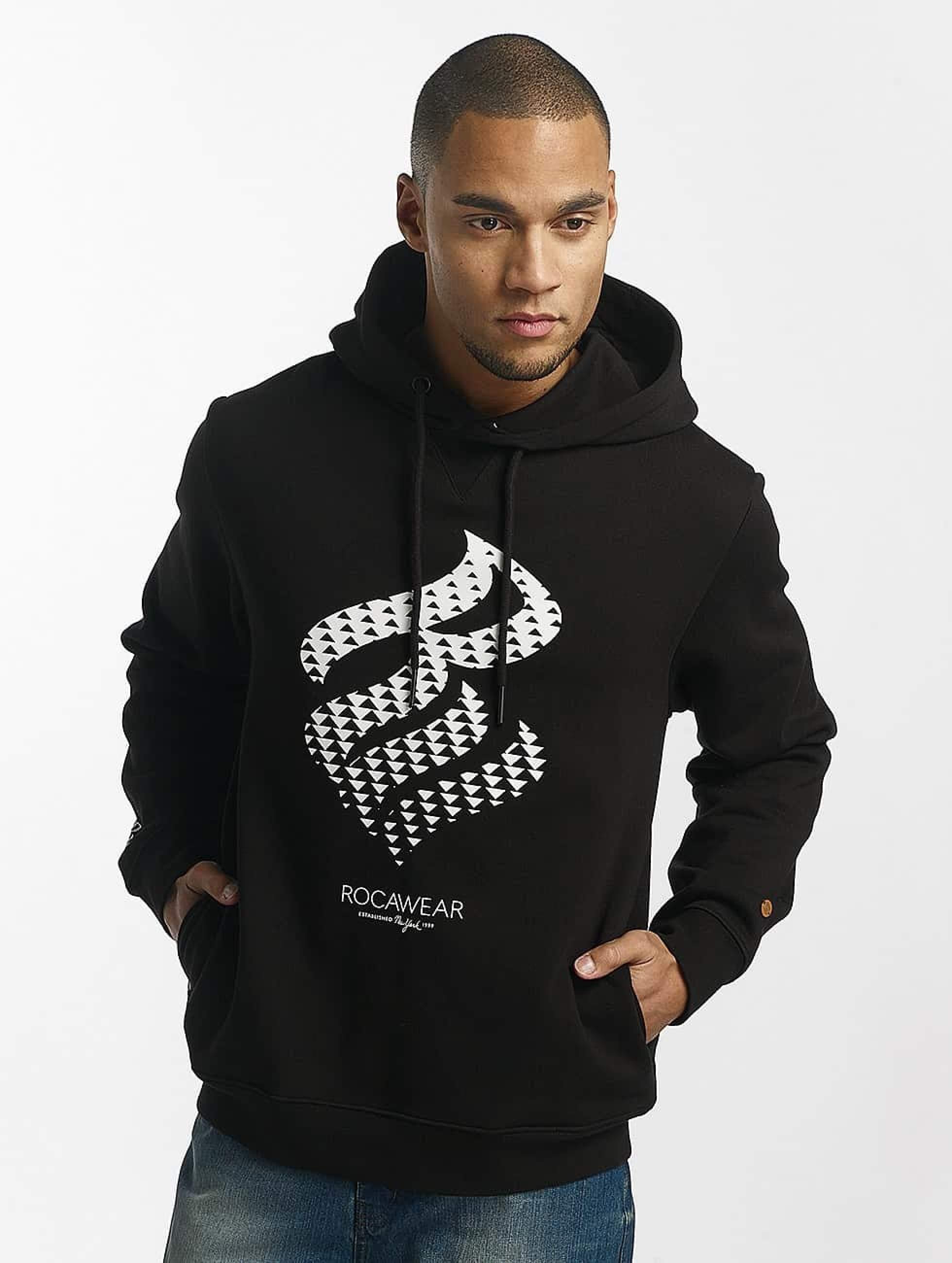 Rocawear / Hoodie Triangle in black M